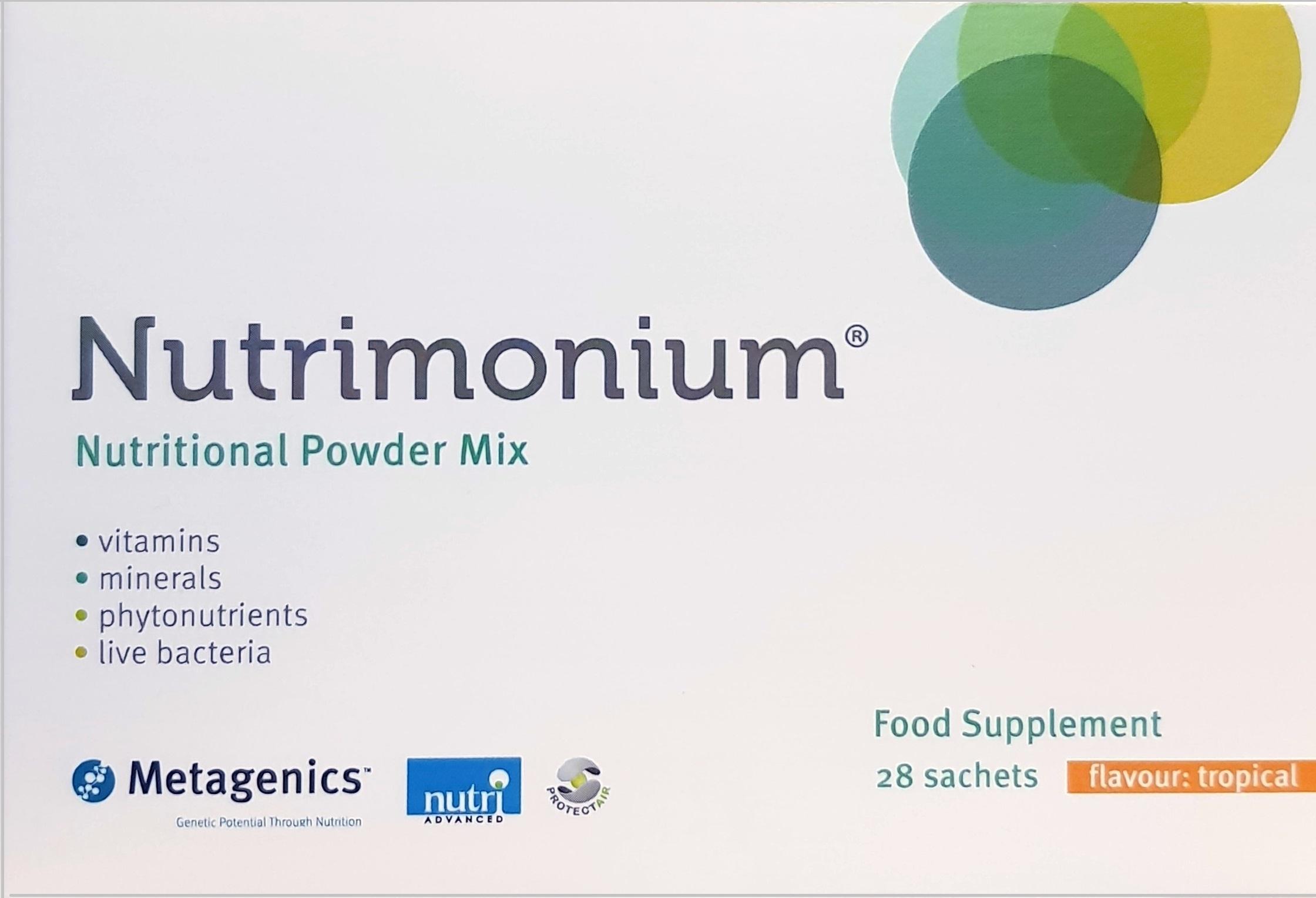Nutrimonium 28 sachets Tropical Flavour