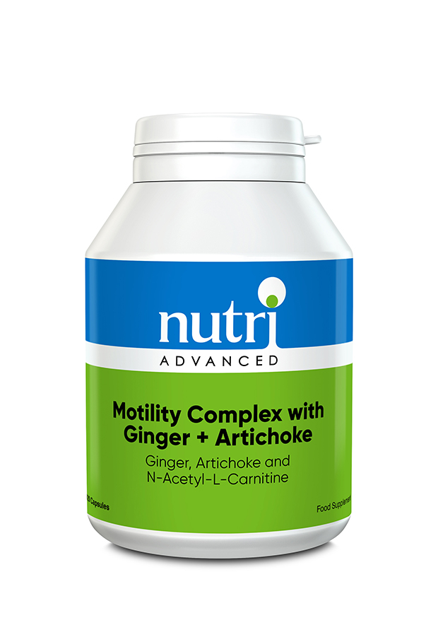 Motility Complex with Ginger + Artichoke 120's