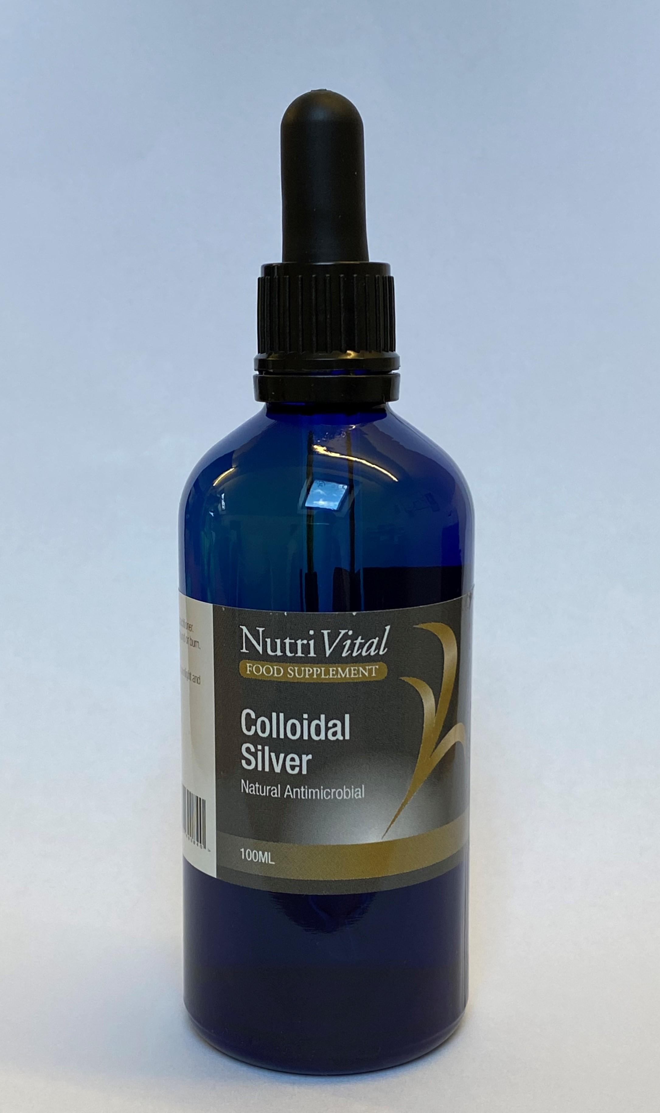 Colloidal Silver (Dropper Bottle) 100ml