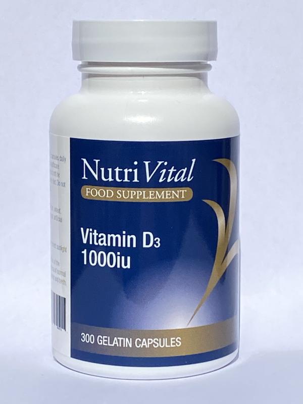 Vitamin D3 1000IU 300's