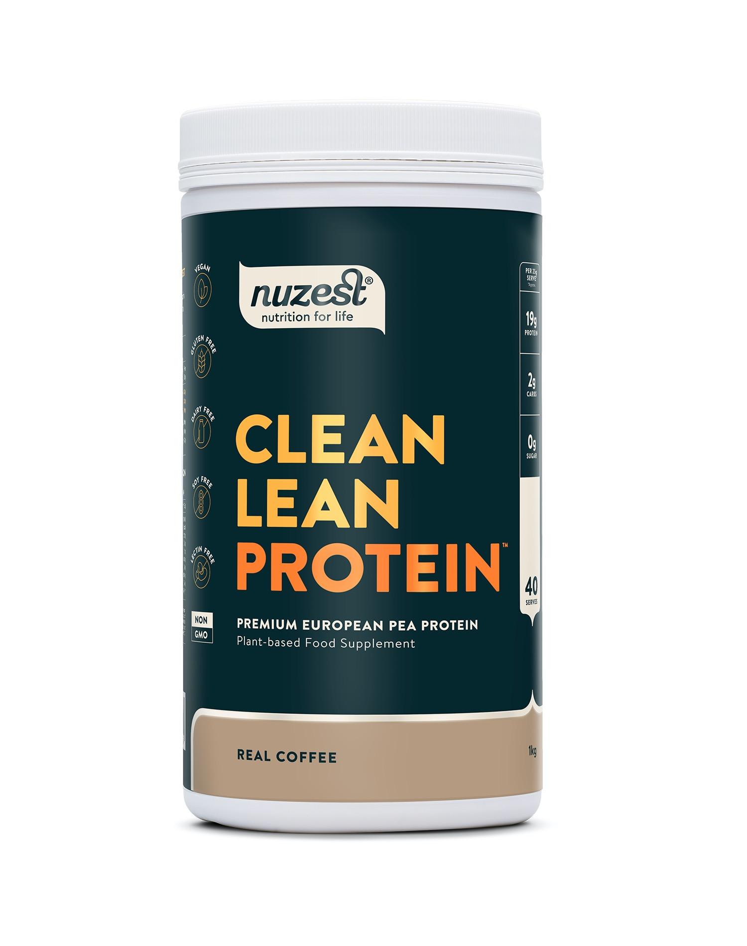 Clean Lean Protein Real Coffee 1kg