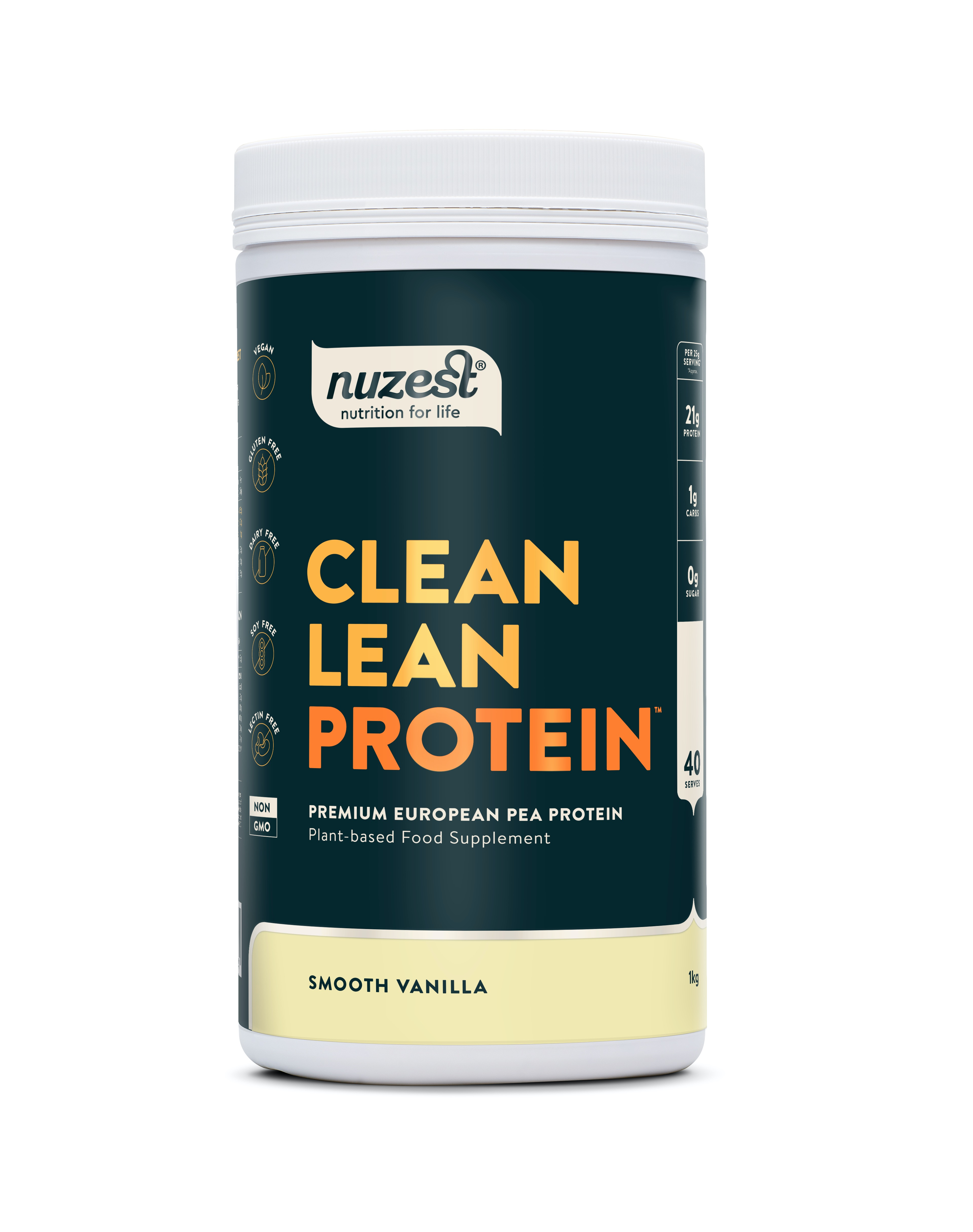 Clean Lean Protein Smooth Vanilla 1kg