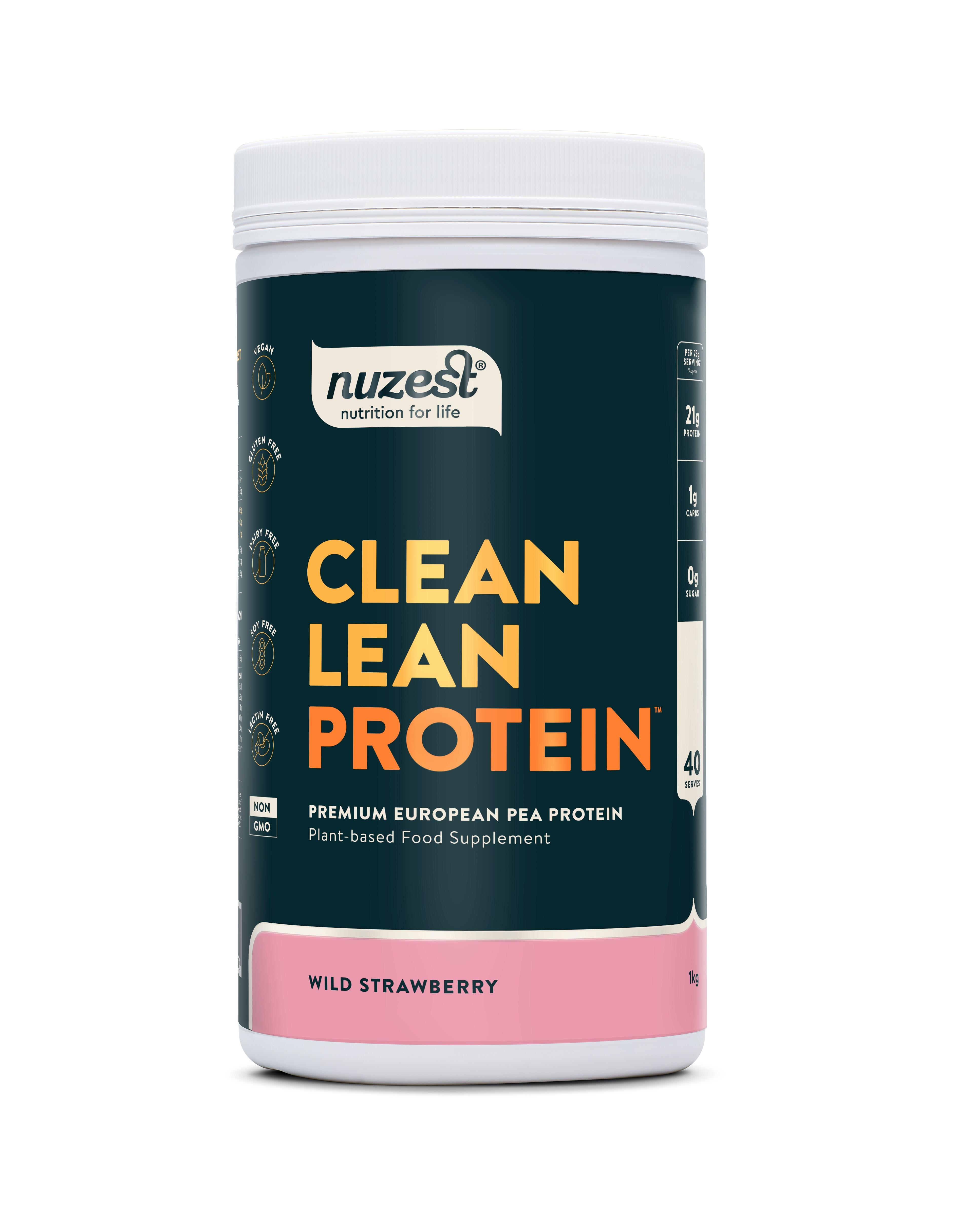 Clean Lean Protein Wild Strawberry 1kg