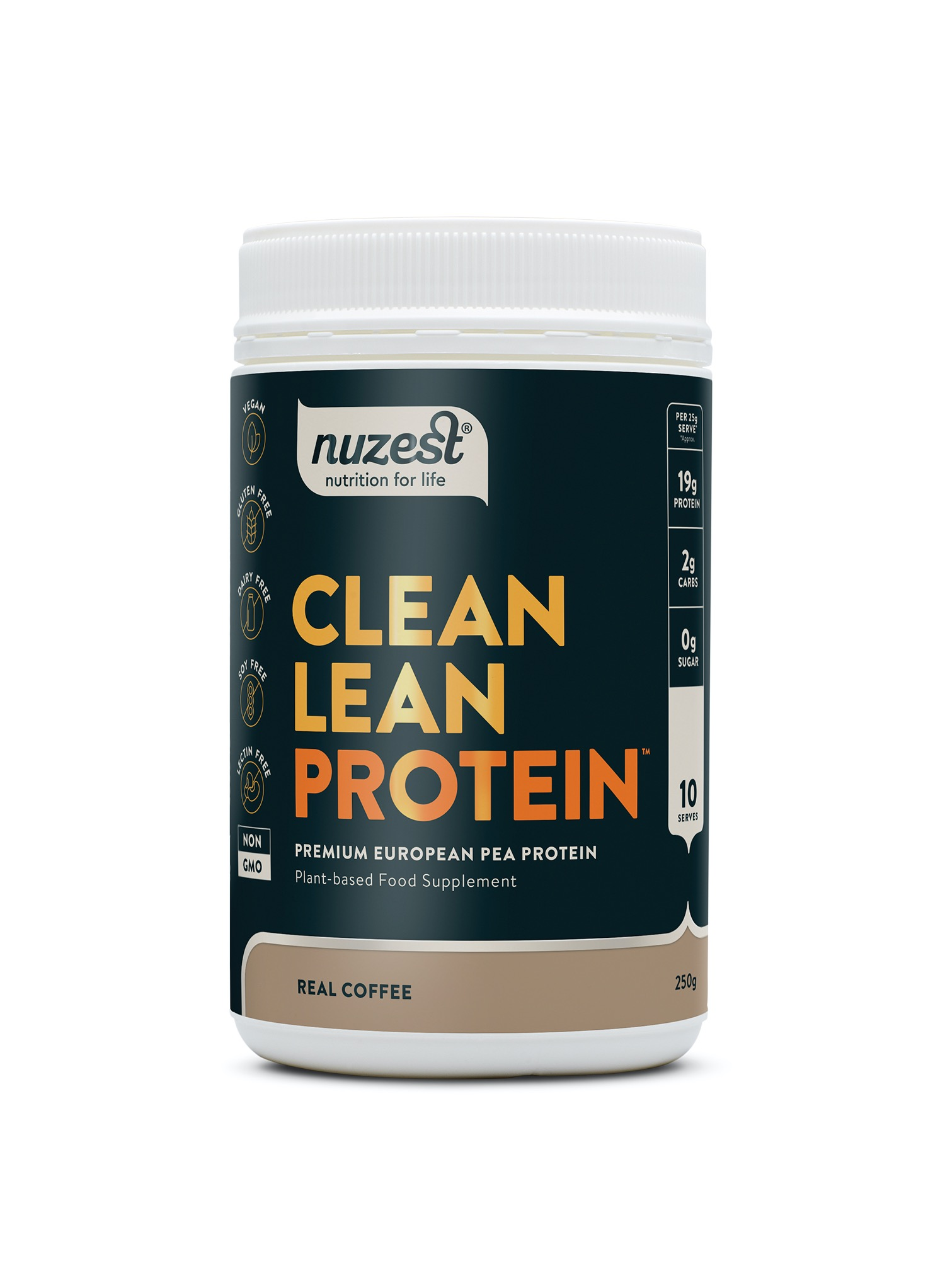 Clean Lean Protein Real Coffee 250g