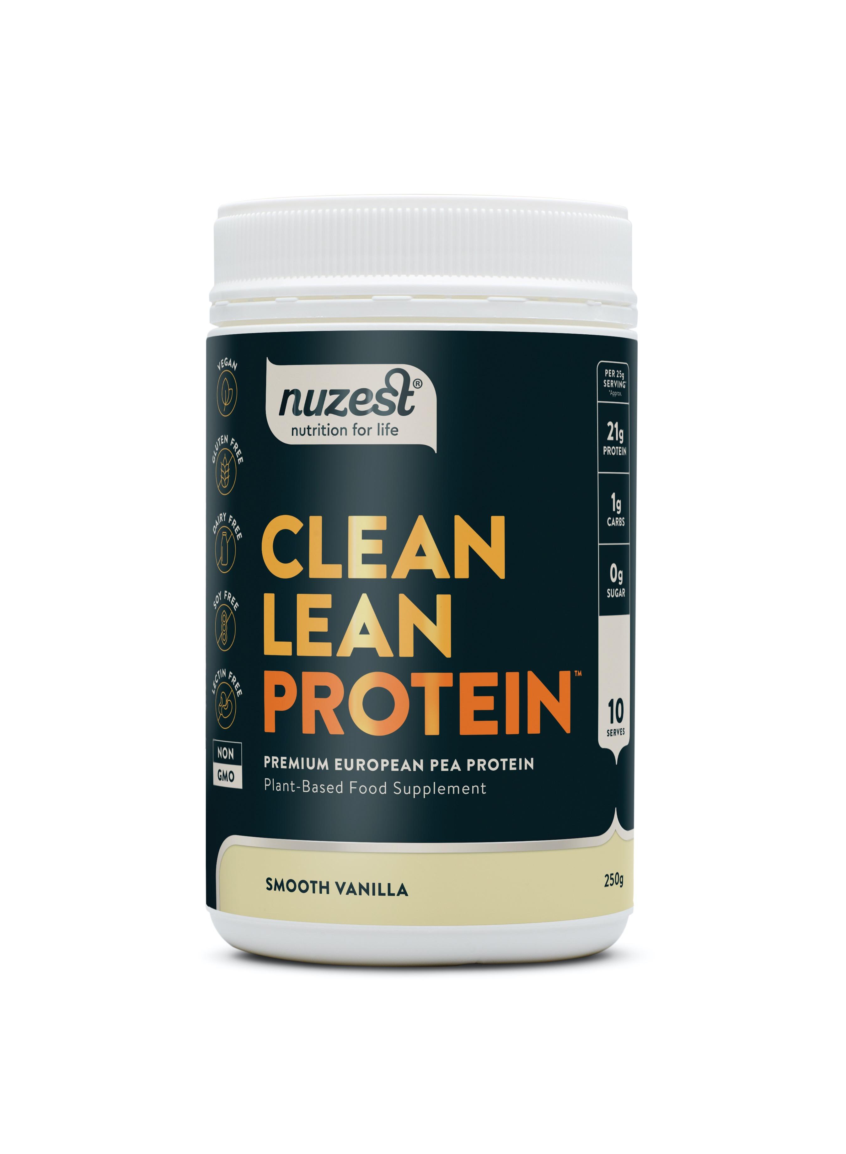 Clean Lean Protein Smooth Vanilla 250g
