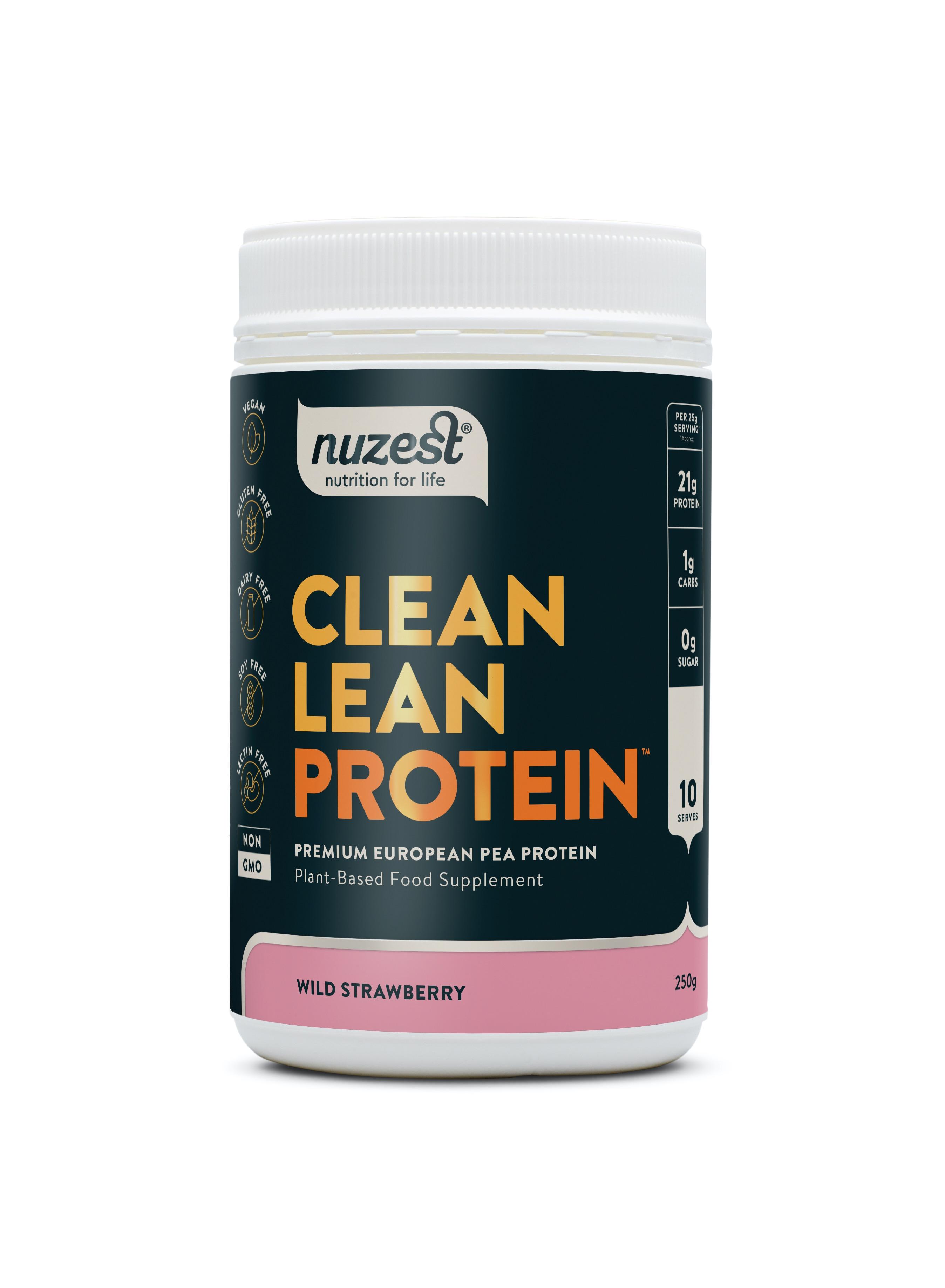 Clean Lean Protein Wild Strawberry 250g