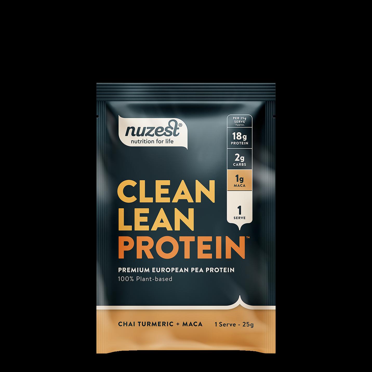 Clean Lean Protein Chai Turmeric + Maca 25g