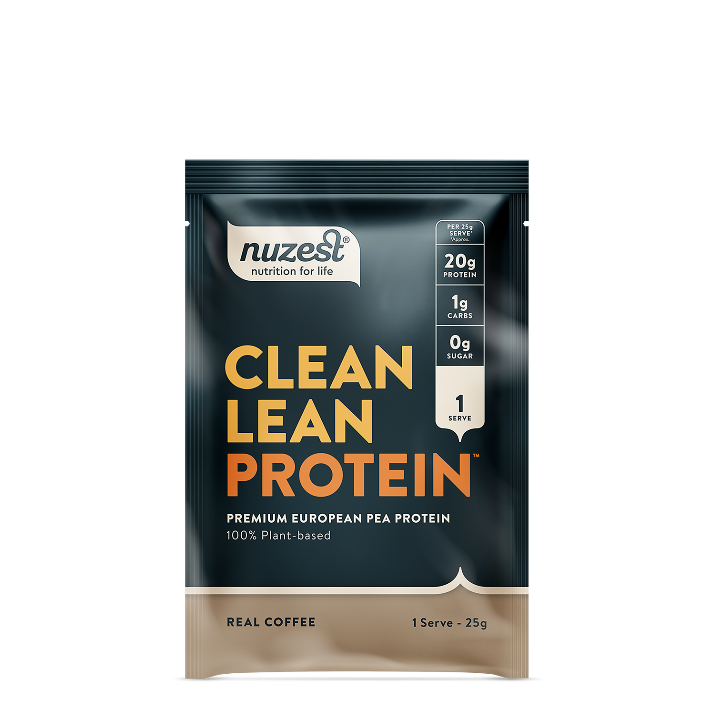 Clean Lean Protein Real Coffee 25g SINGLE