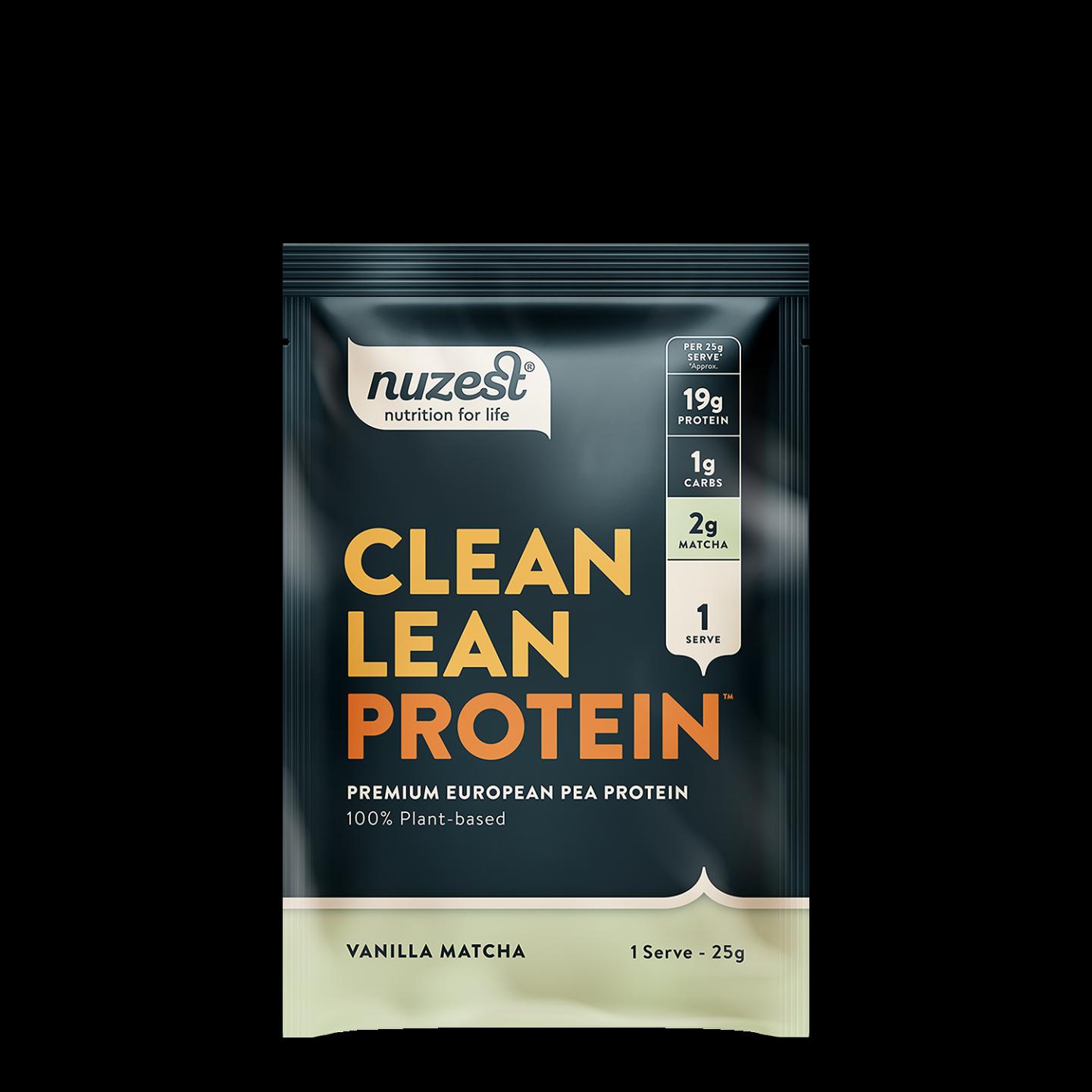 Clean Lean Protein Vanilla Matcha 25g SINGLE
