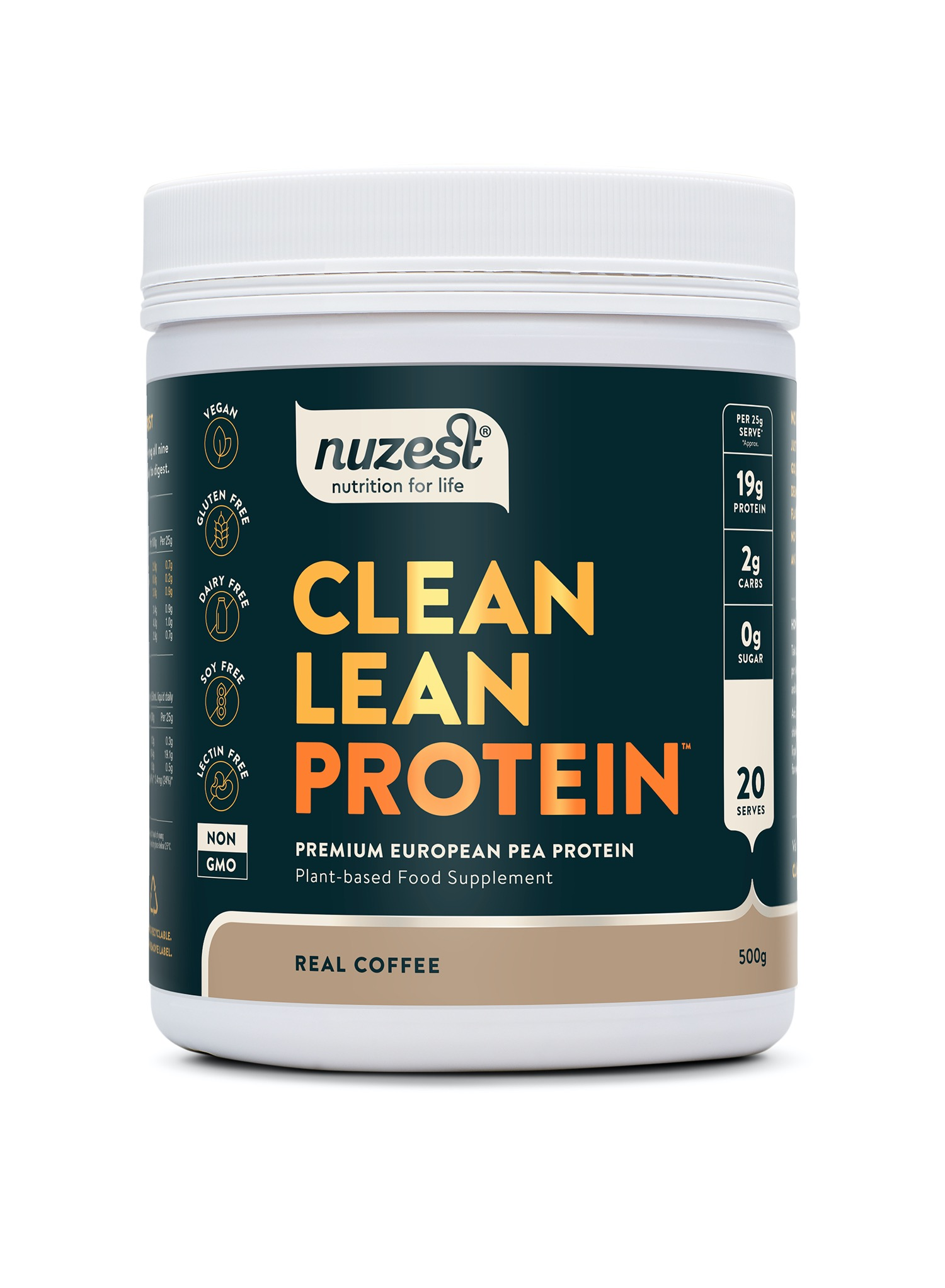 Clean Lean Protein Real Coffee 500g
