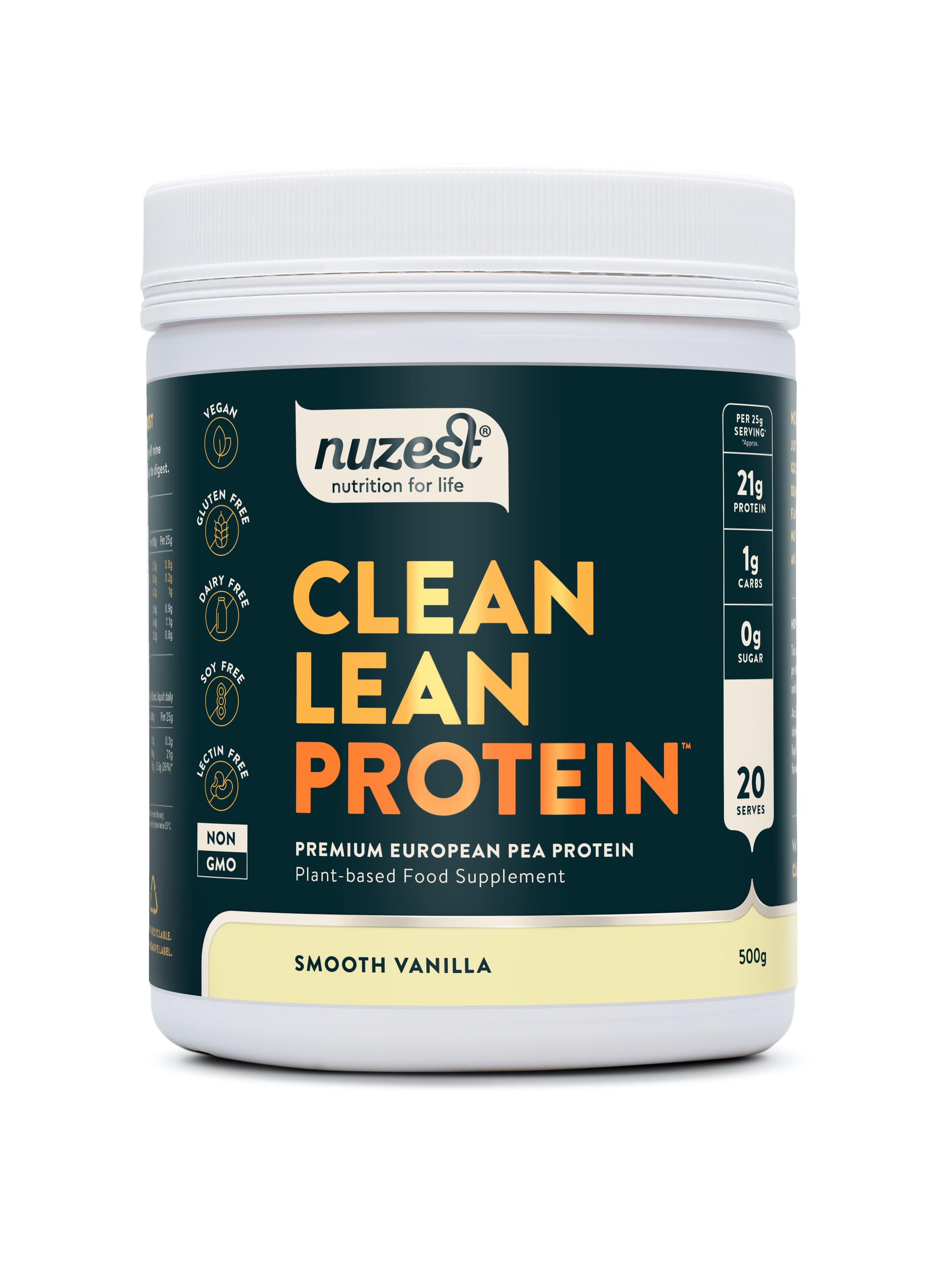 Clean Lean Protein Smooth Vanilla 500g
