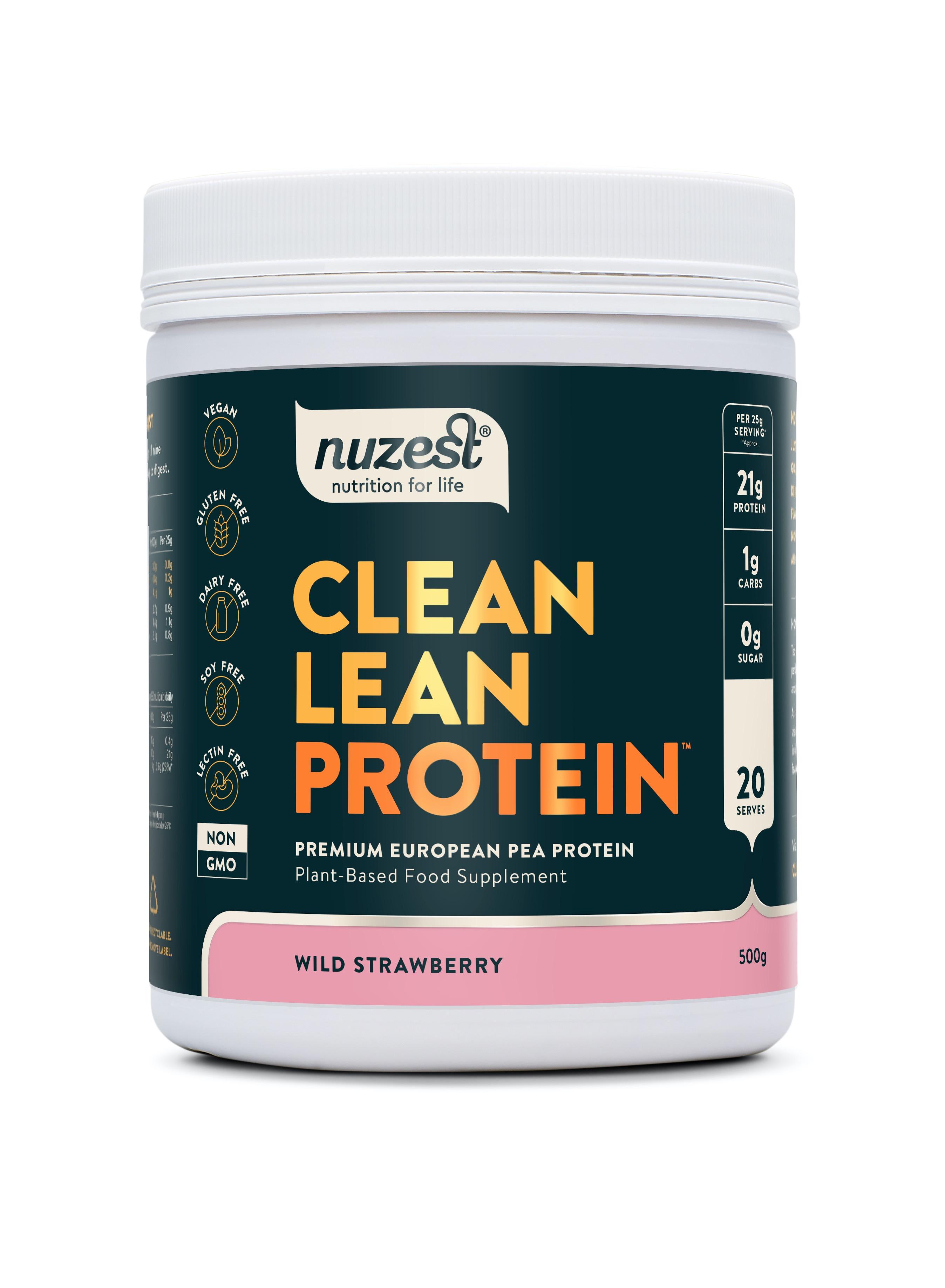 Clean Lean Protein Wild Strawberry 500g