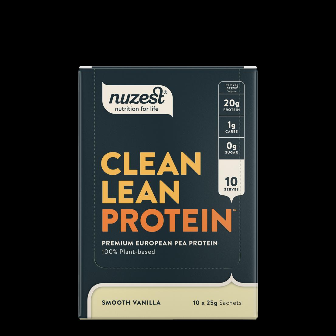 Clean Lean Protein Smooth Vanilla 10 x 25g