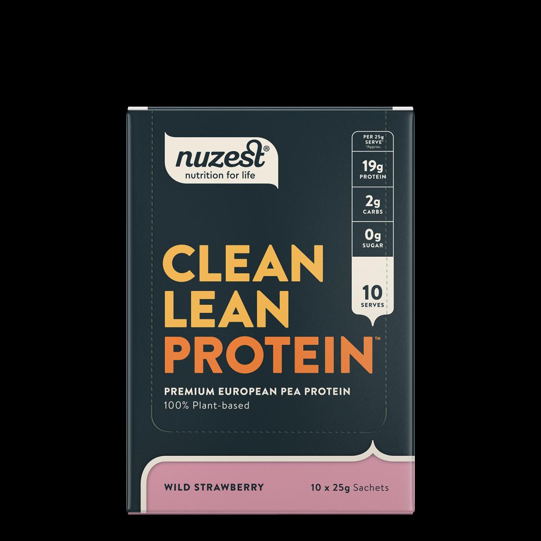 Clean Lean Protein Wild Strawberry 10 x 25g