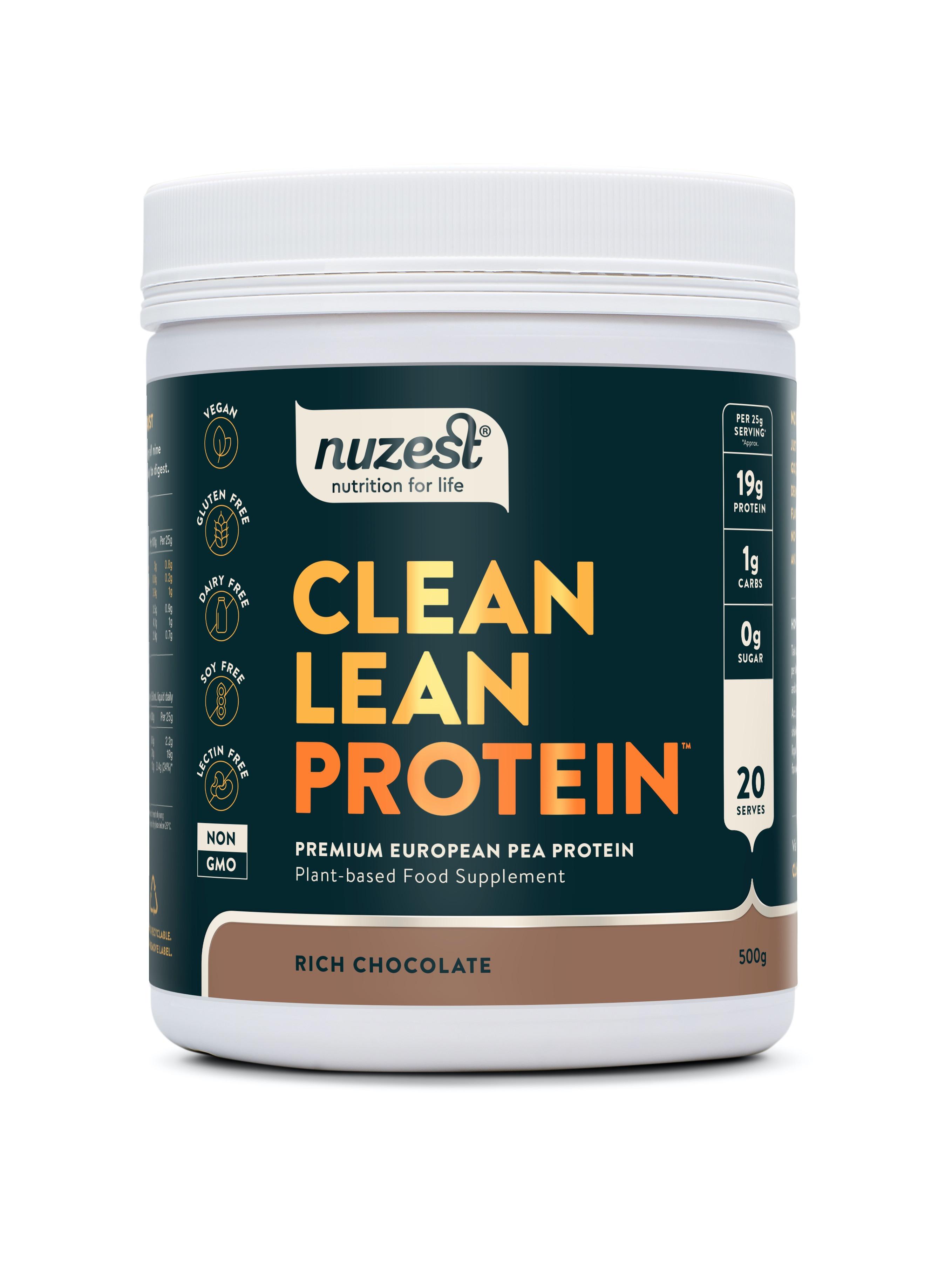 Clean Lean Protein Rich Chocolate  500g