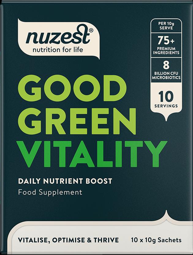 Good Green Vitality 10 x 10g