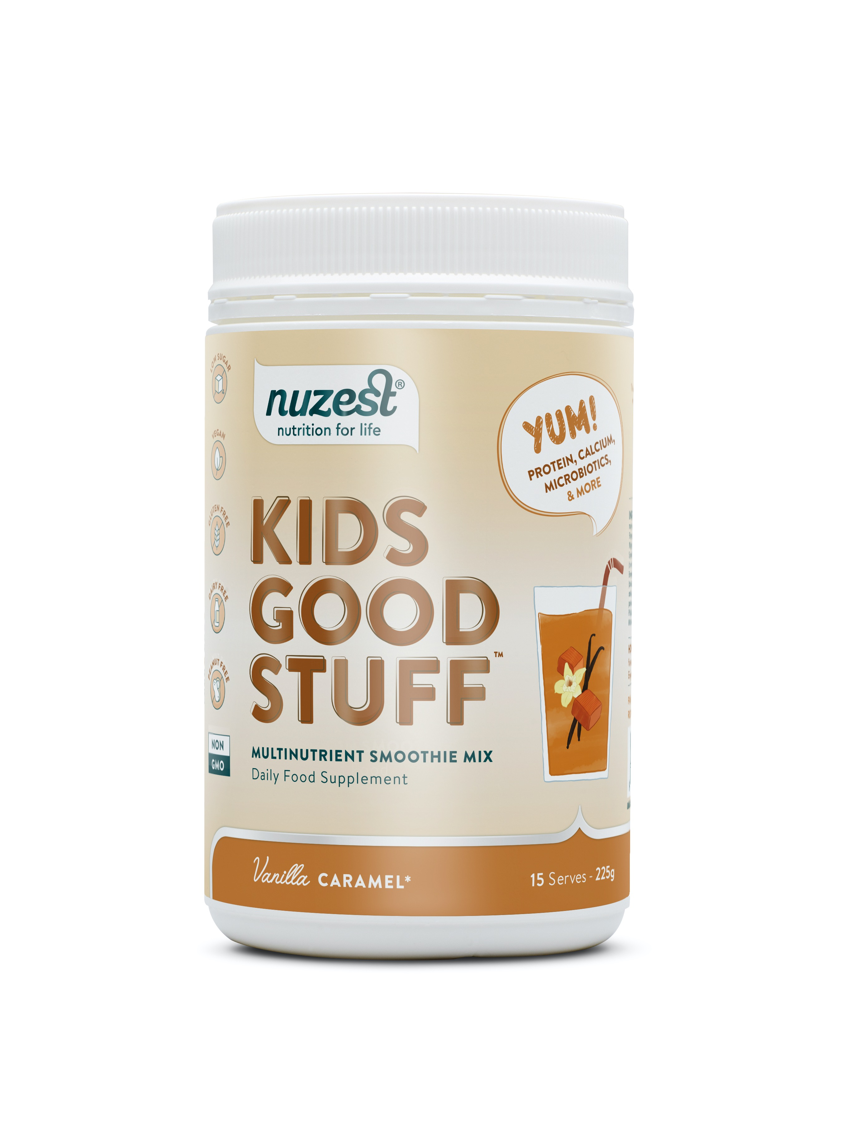 Kids Good Stuff Vanilla Caramel 225g