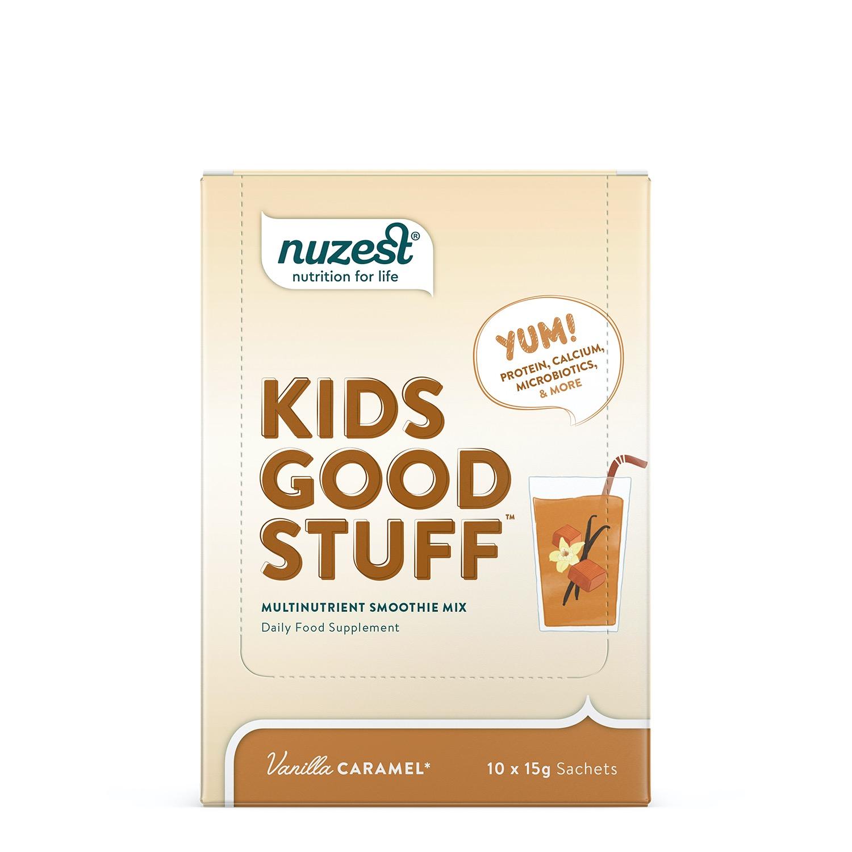 Kids Good Stuff Vanilla Caramel 10 x 15g