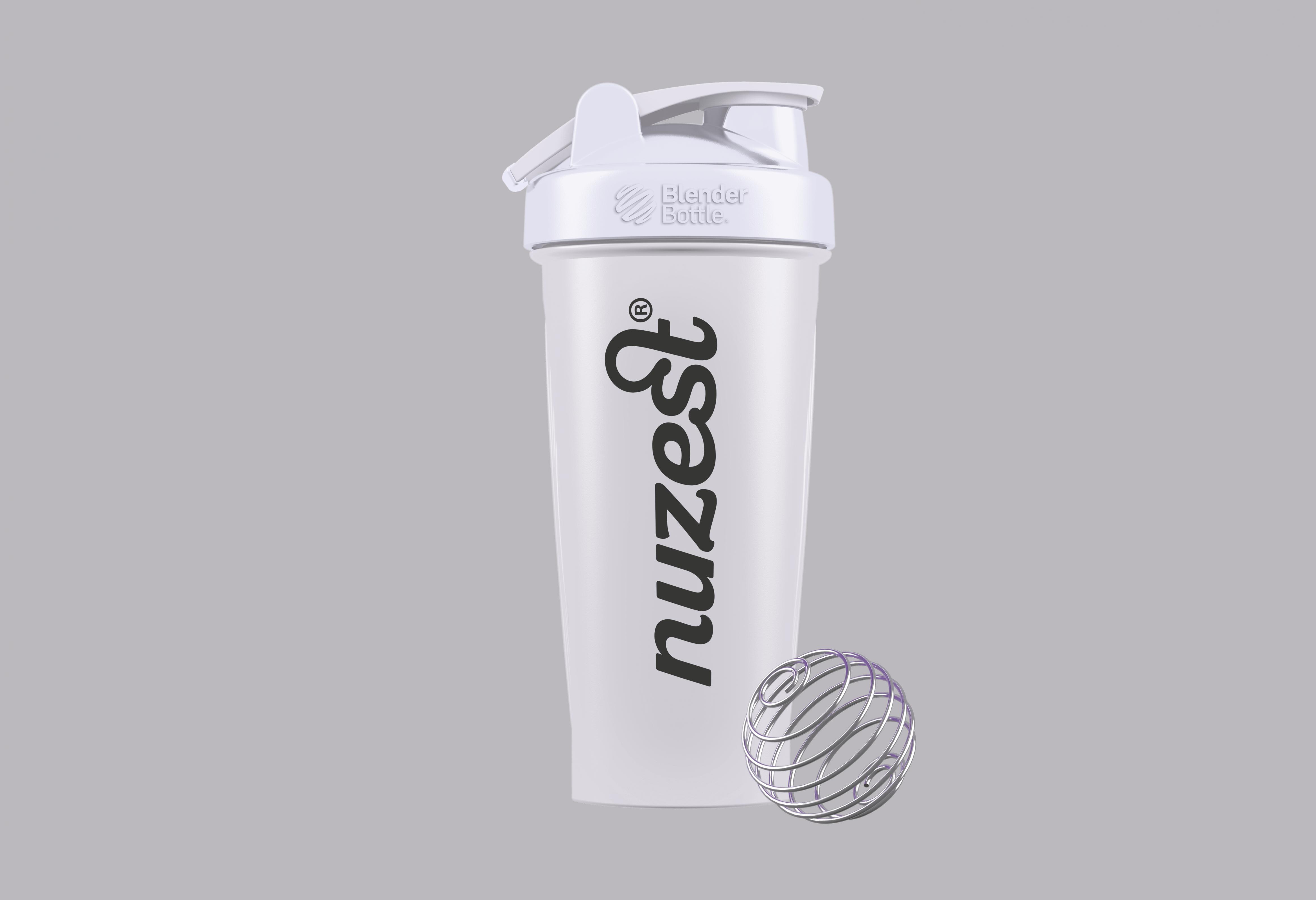 Blender Bottle with Metal Ball 820ml