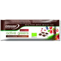 Active Greens Chocolate Covered + Protein 12 x 75g bars