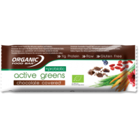 Active Greens Chocolate Covered + Probiotic 12 x 68g bars