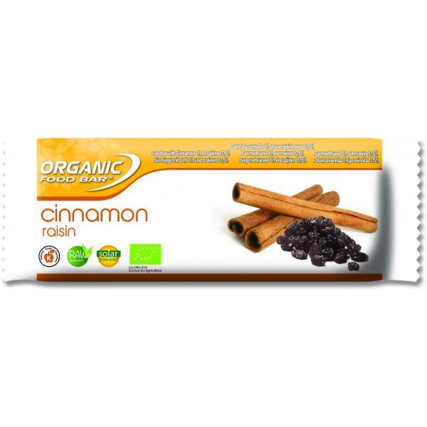 Cinnamon Raisin 12 x 50g bars