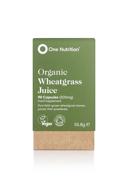 Organic Wheatgrass Juice 500mg 90's
