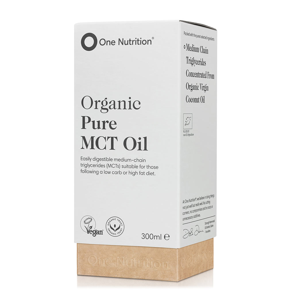 Organic Pure MCT Oil 300ml (Currently Unavailable)