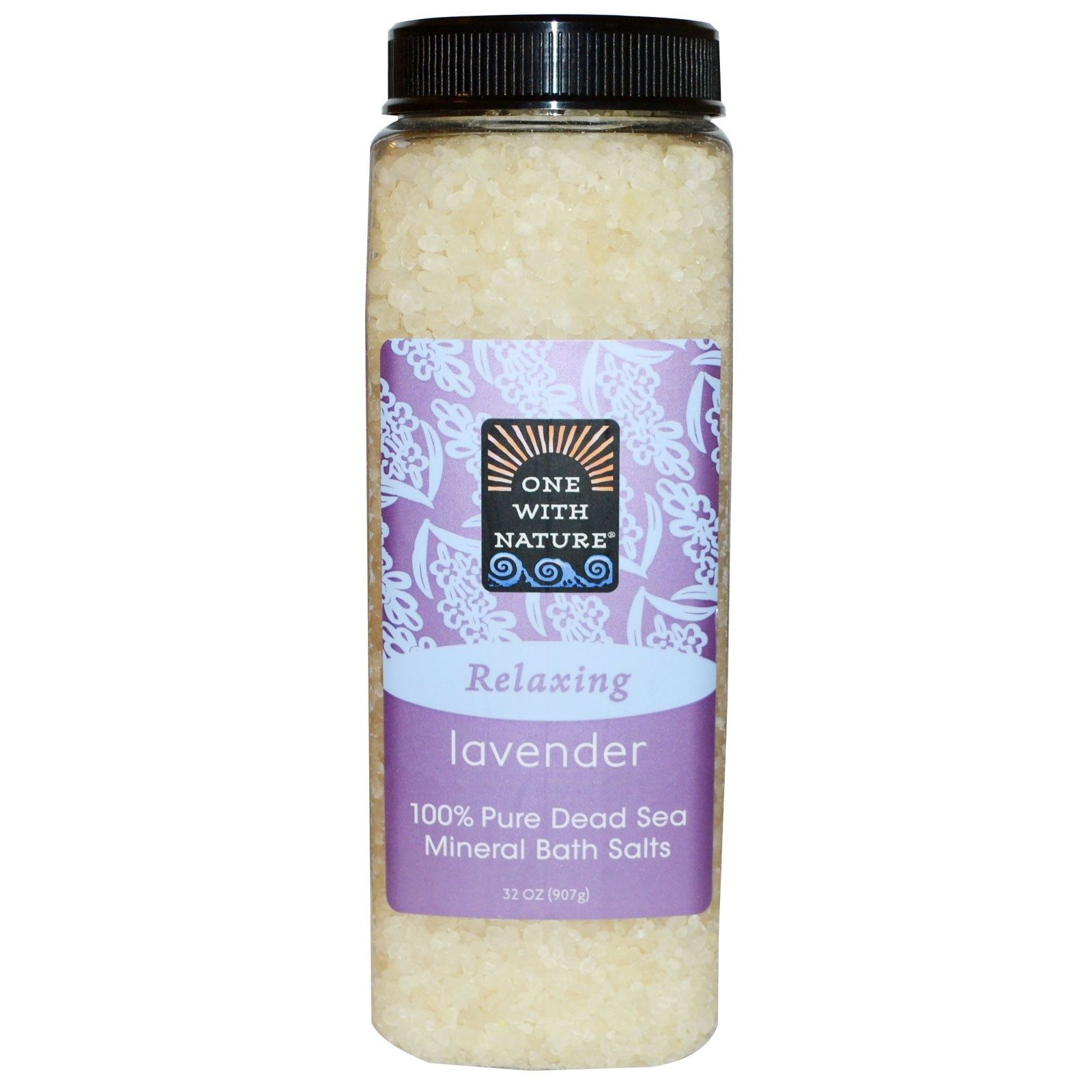 Relaxing Lavender Dead Sea Salts 907g