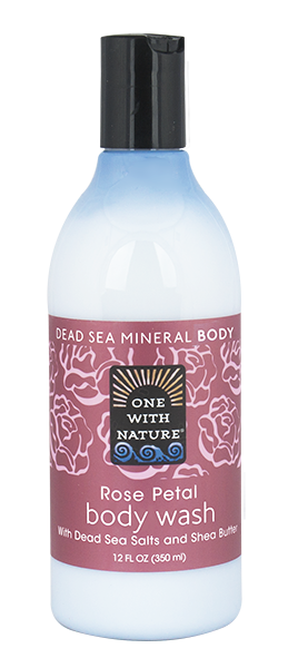 Rose Petal Body Wash 350ml