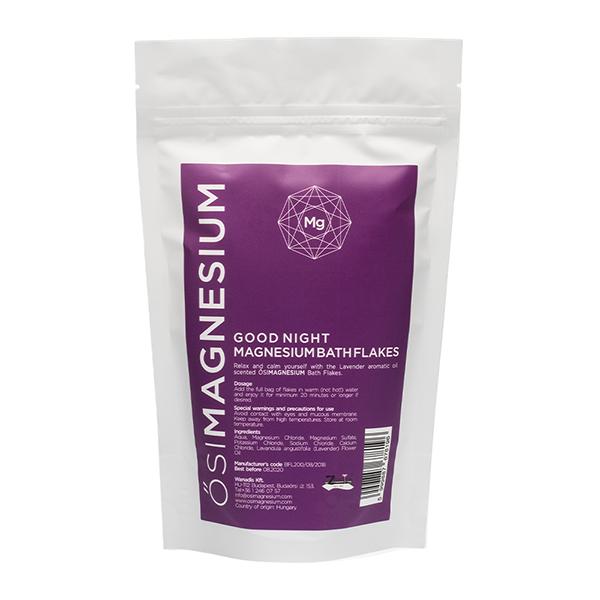 Magnesium Good Night Bath Flakes Lavender 1kg