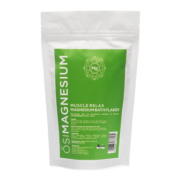 Magnesium Muscle Relax Bath Flakes Eucalyptus 1kg