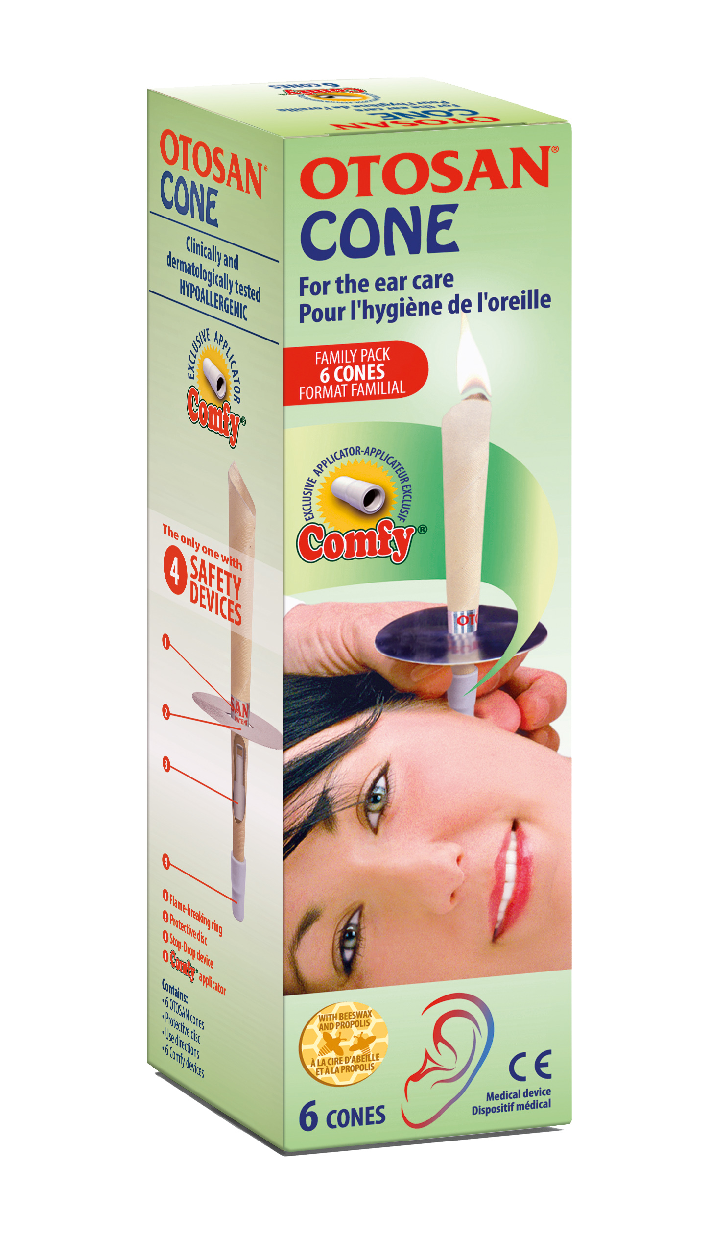 Otosan Ear Cones Family Pack (6)