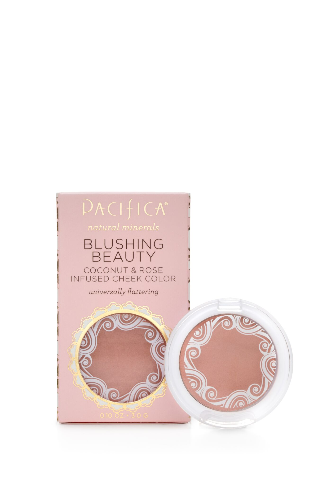 Blushious Coconut and Rose Infused Cheek Colour Camelia 3g (Formerly Blushing Beauty)