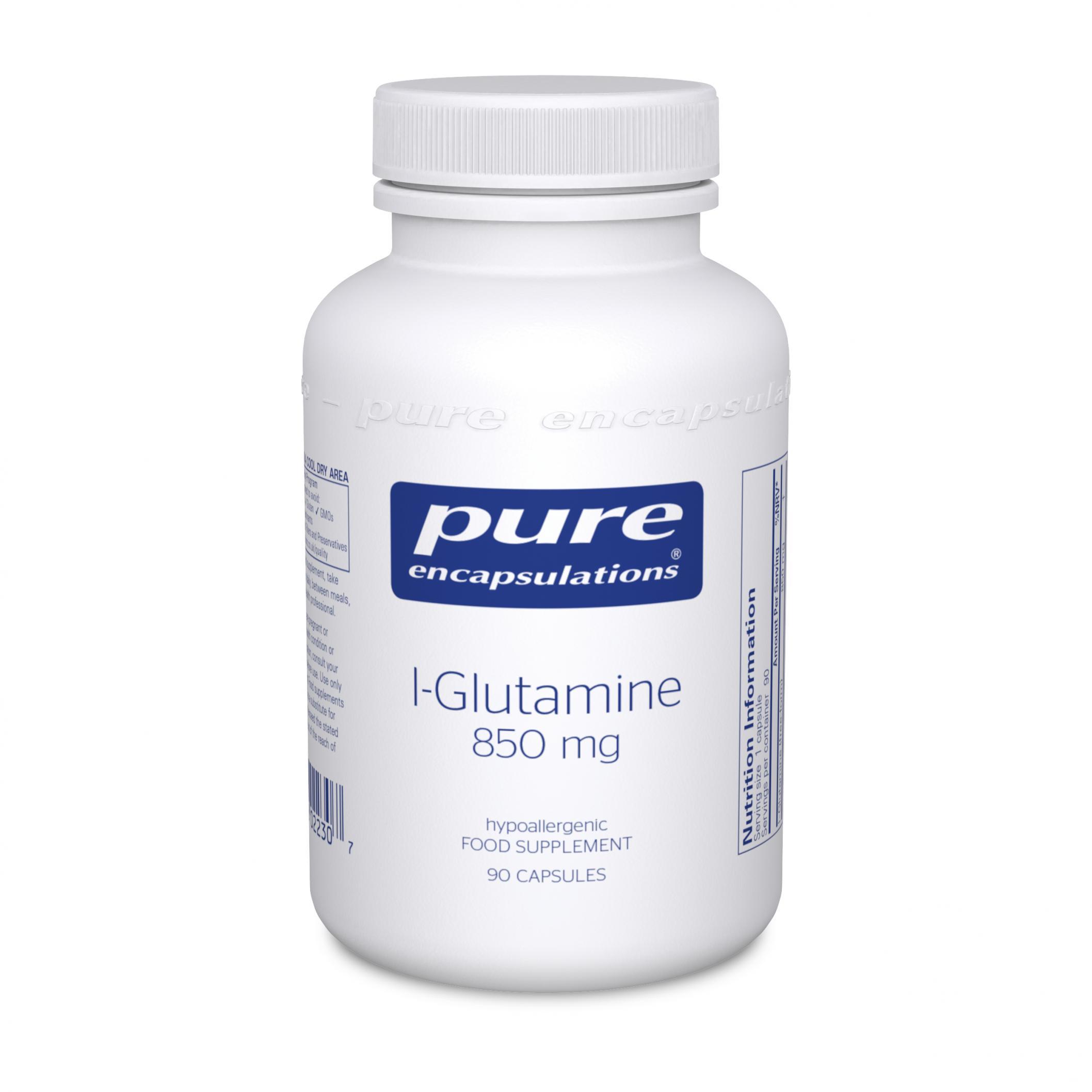 L-Glutamine 850mg 90's