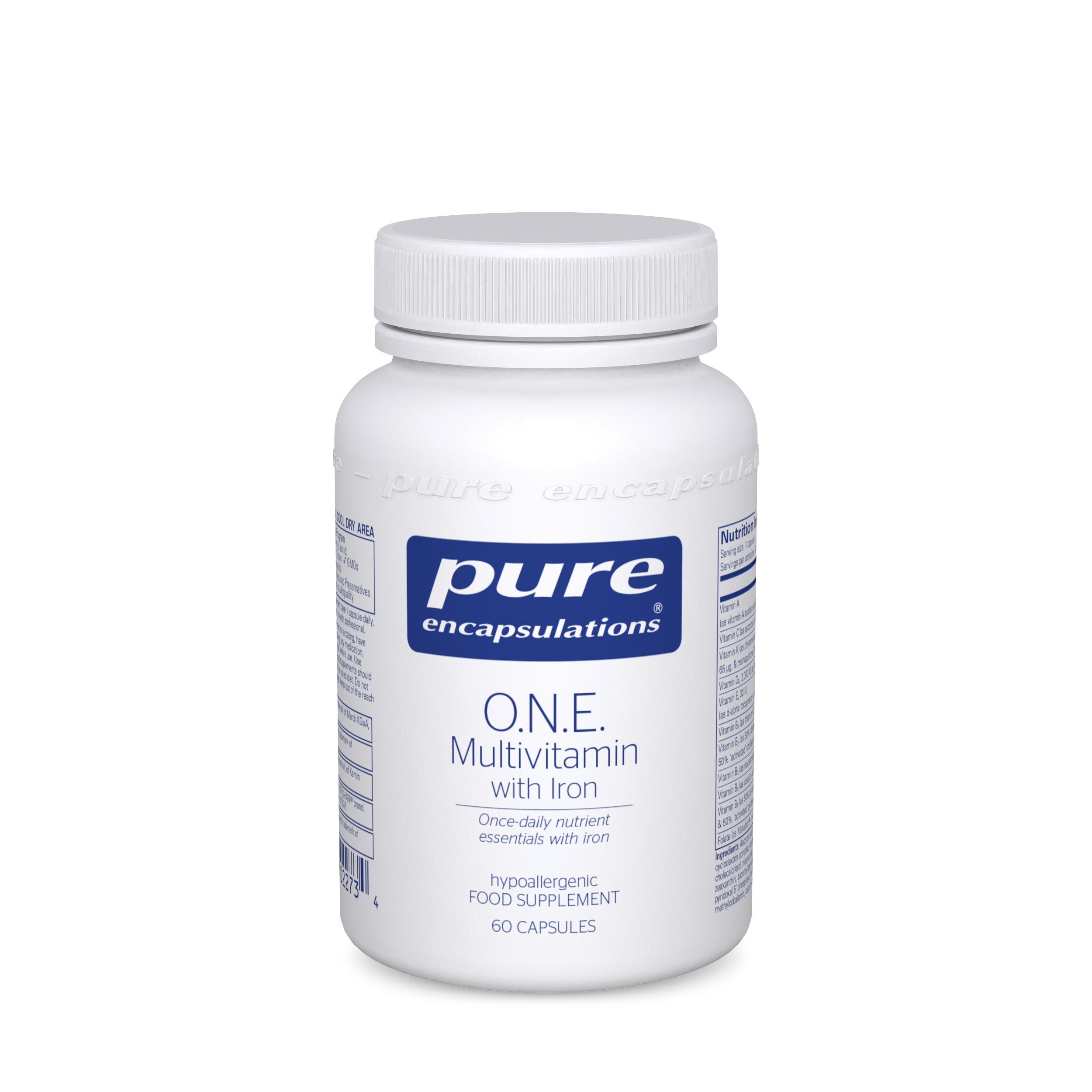 O.N.E Multivitamin with Iron 60's (Currently Unavailable)