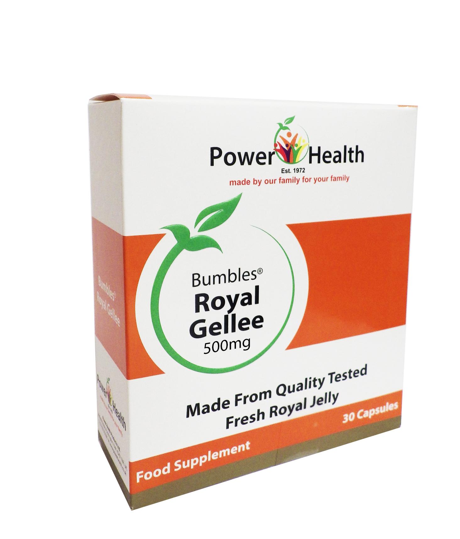Bumbles Royal Gellee 500mg 30s