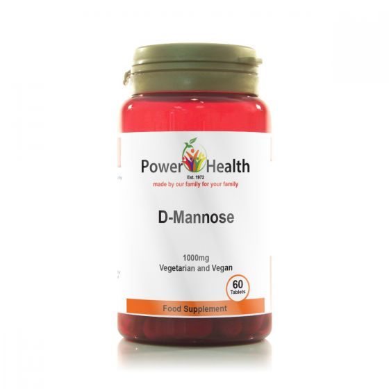 D-Mannose 1000mg 60's