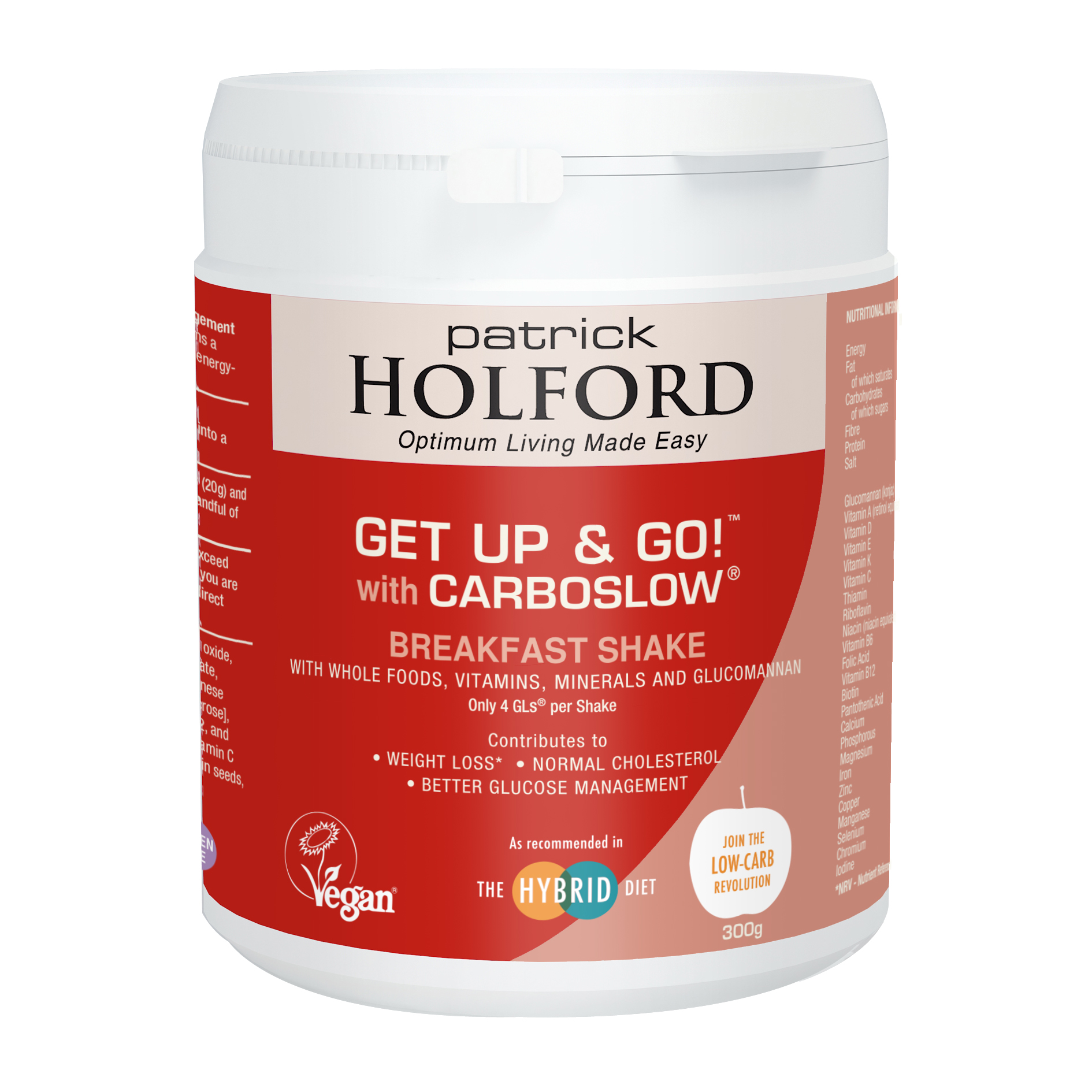 Get Up & Go! with Carboslow 300g