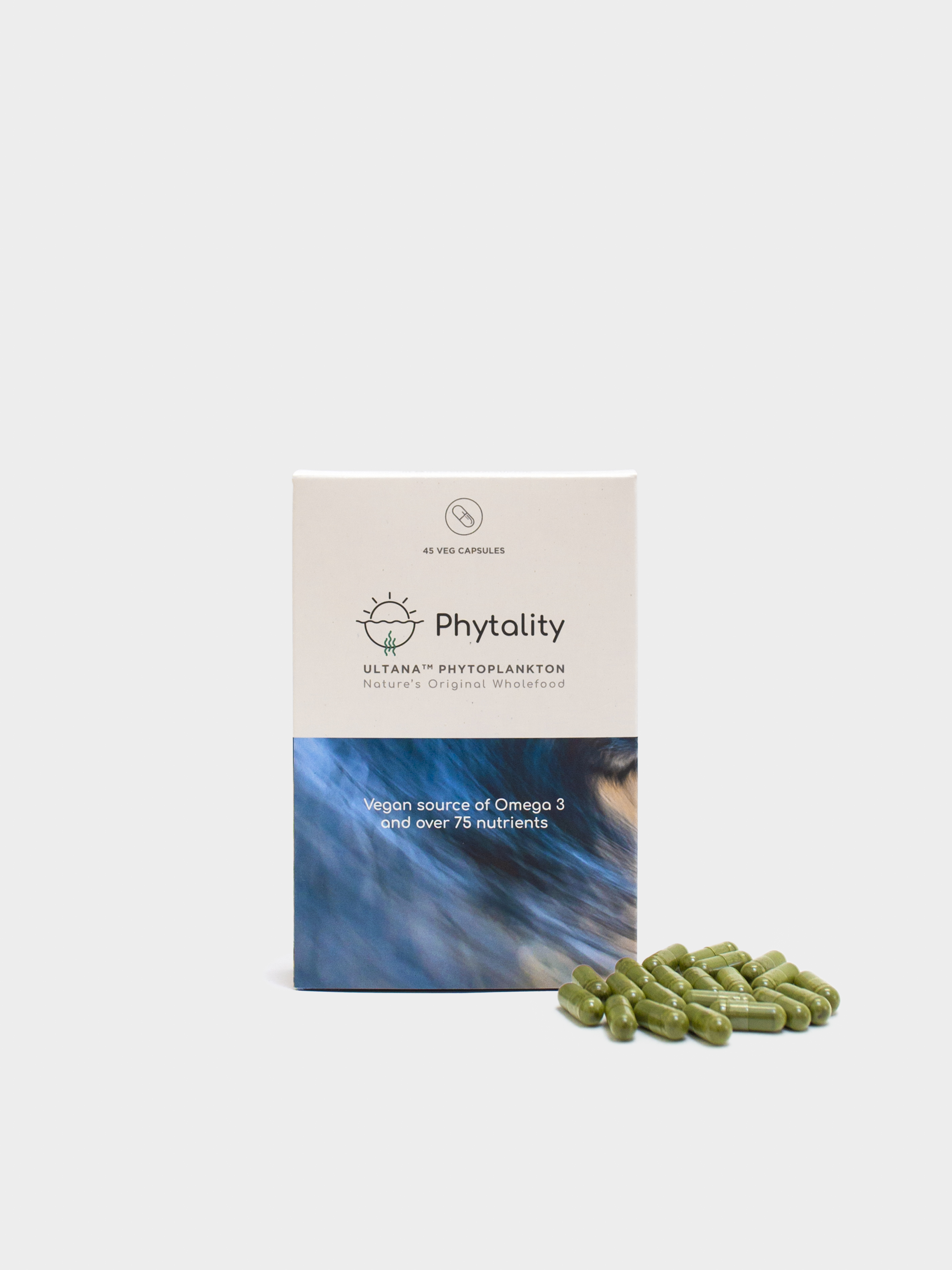 Phytality Ultana Phytoplankton 45 Vegan Caps
