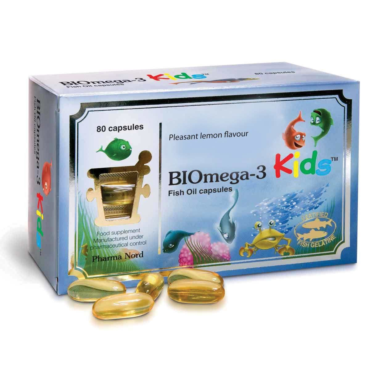 BIOmega-3 Kids Fish Oil 1000mg 80's