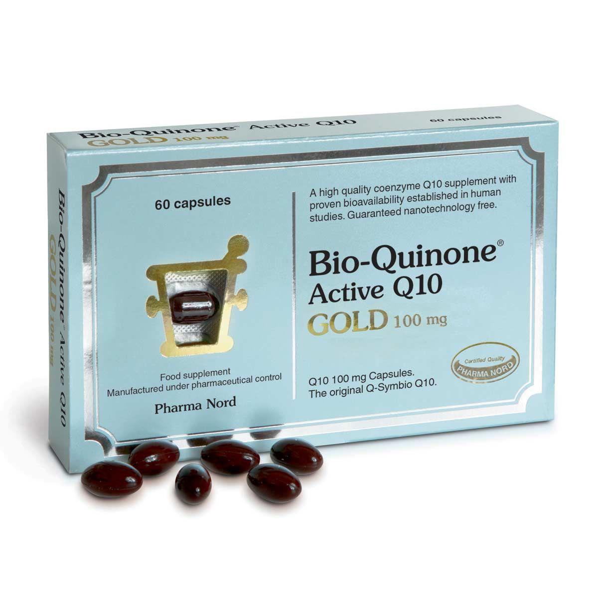 Bio-Quinone Active Q10 Gold 100mg 60's