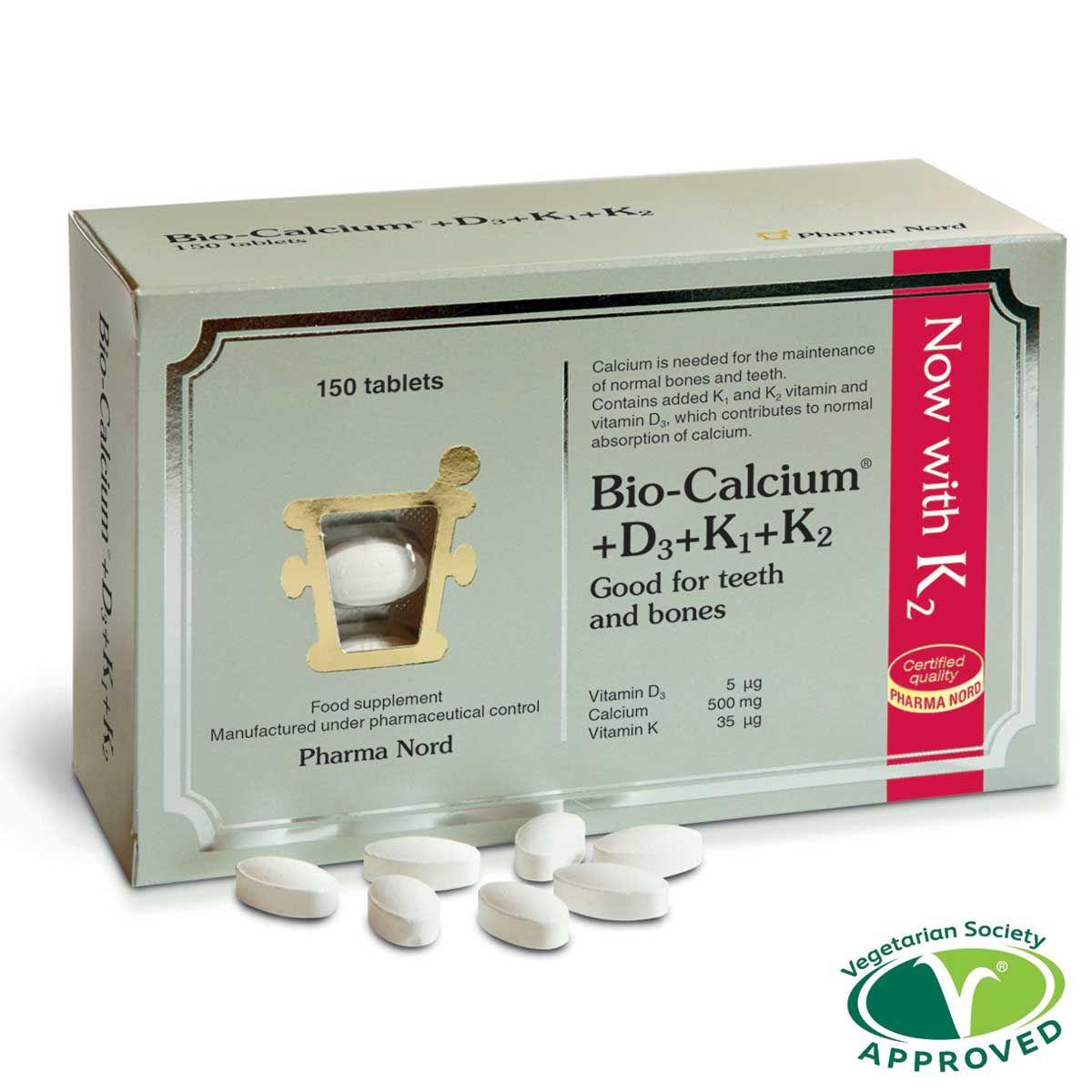 Bio-Calcium +D3 +K1 +K2 150's