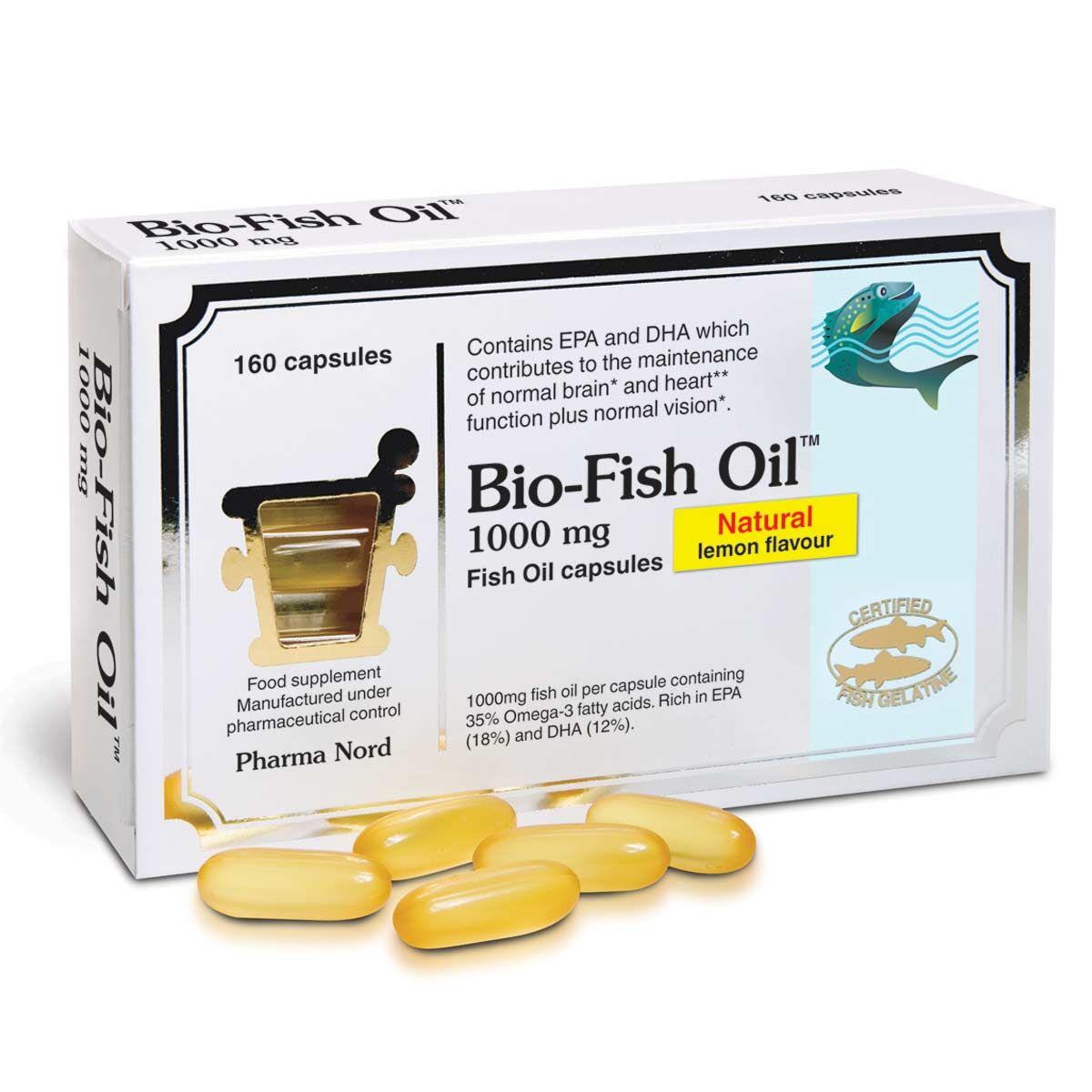 Bio-Fish Oil 1000mg 160's