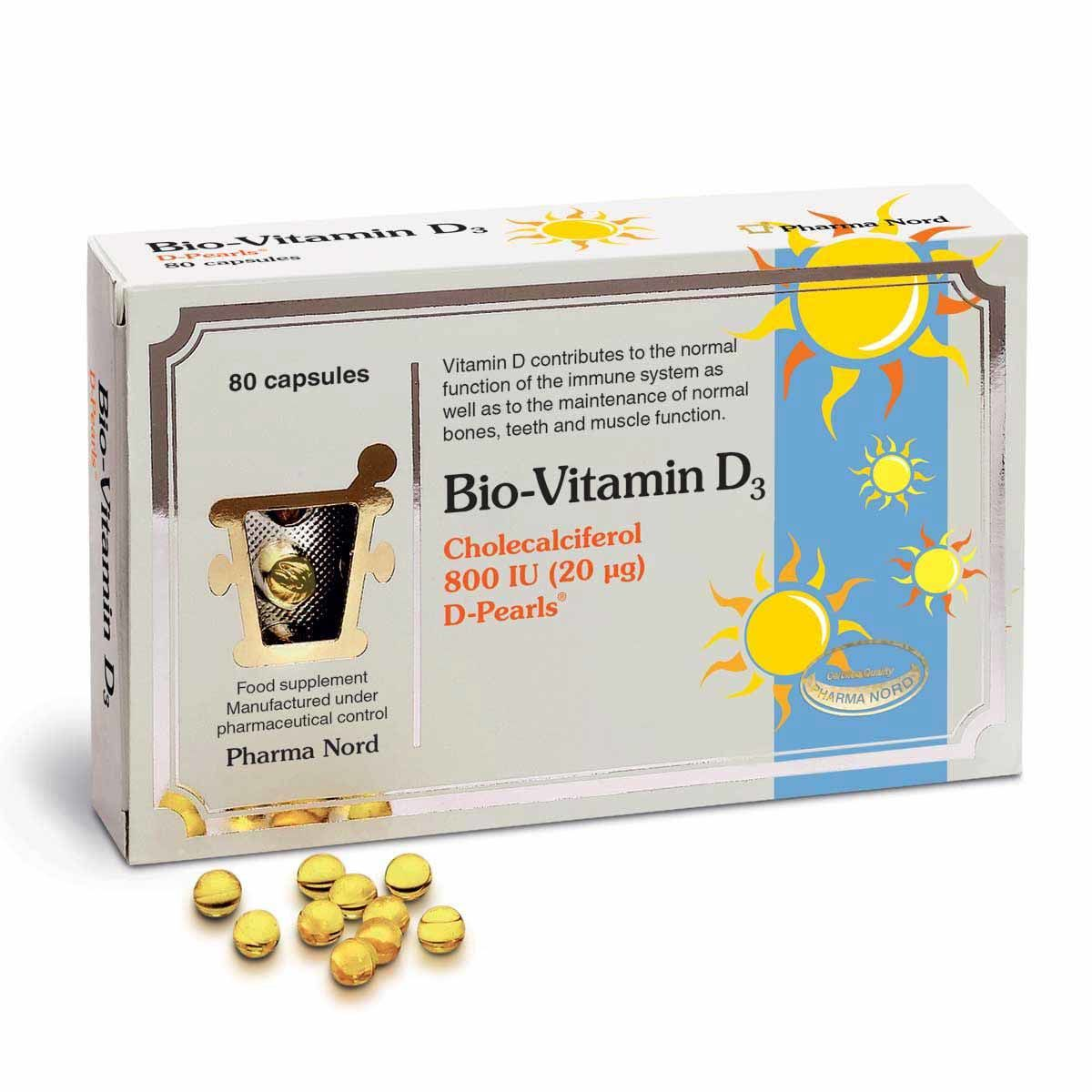 Bio-Vitamin D3 800iu 80's
