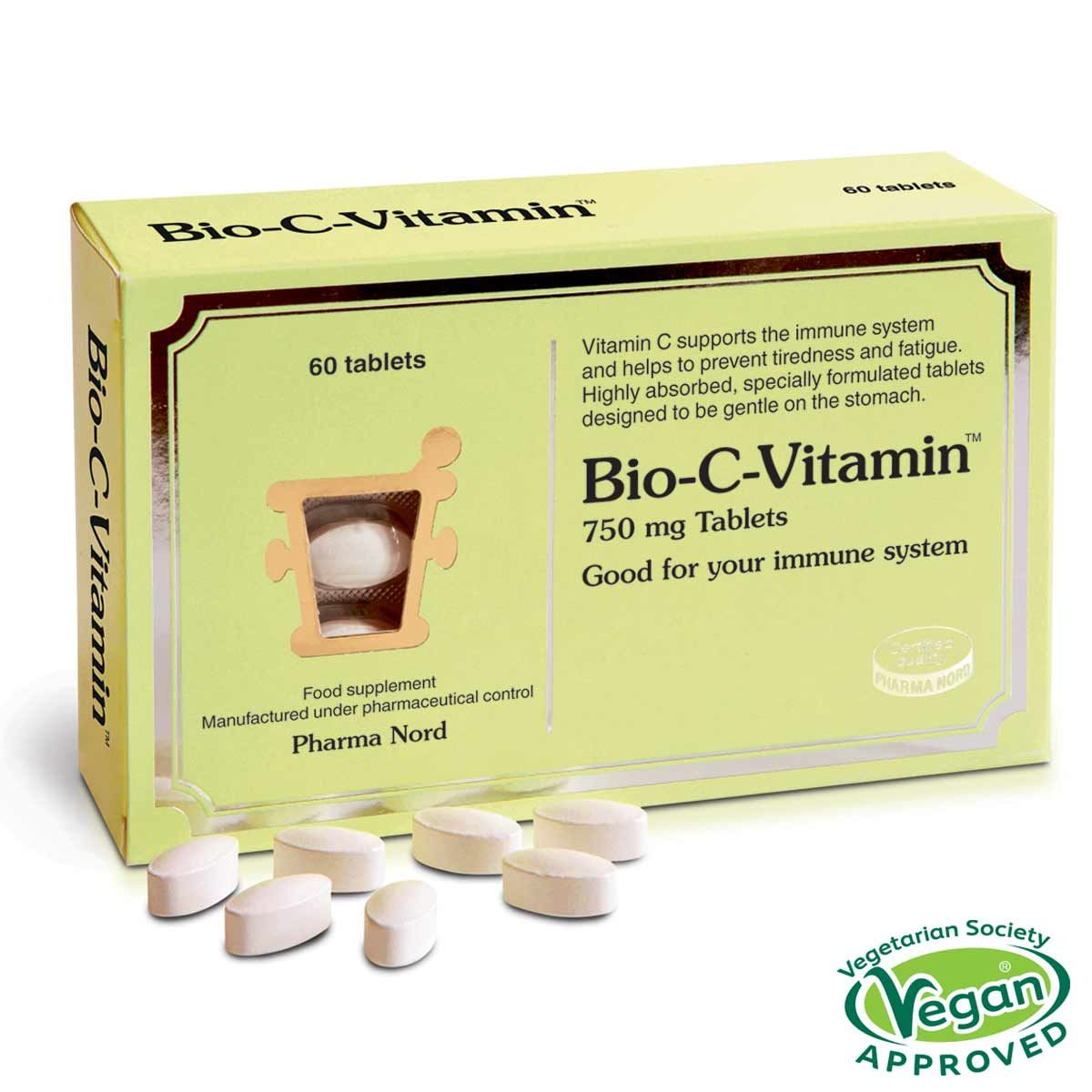 Bio-C-Vitamin 750mg 60's