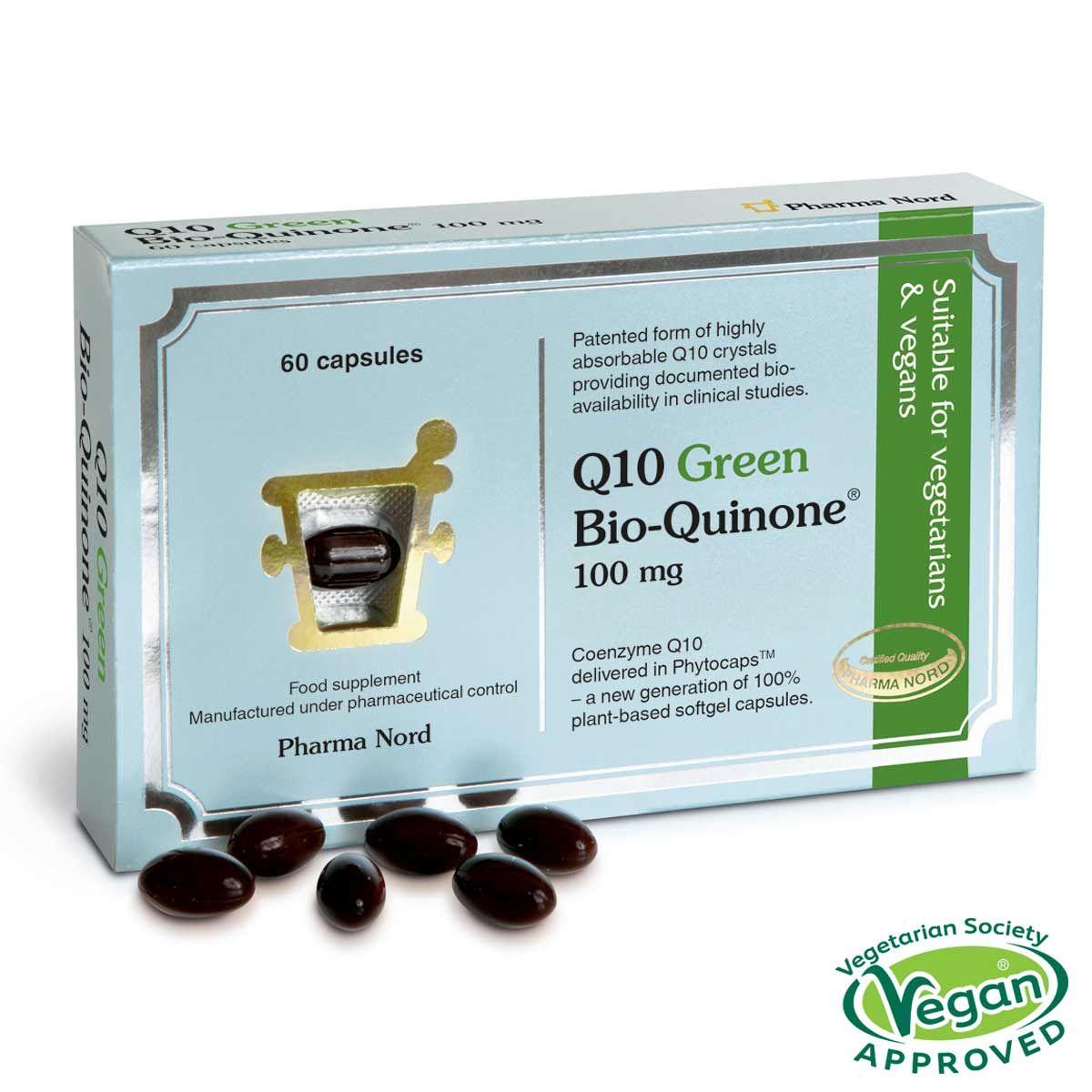 Q10 Green Bio-Quinone 100mg 60's