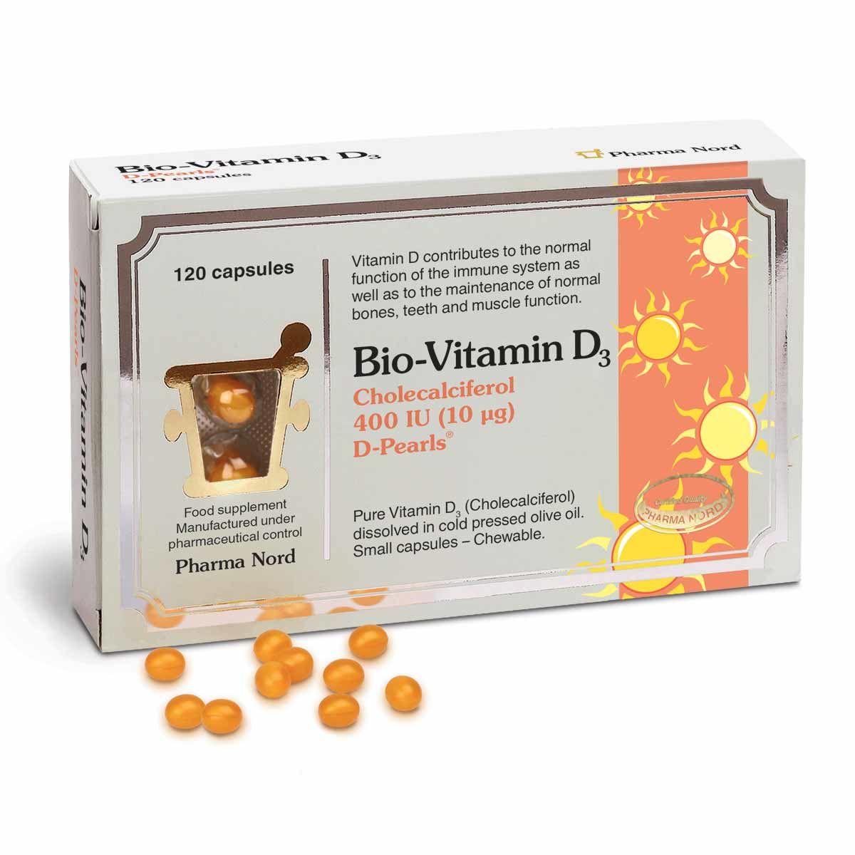 Bio-Vitamin D3 400IU 120's