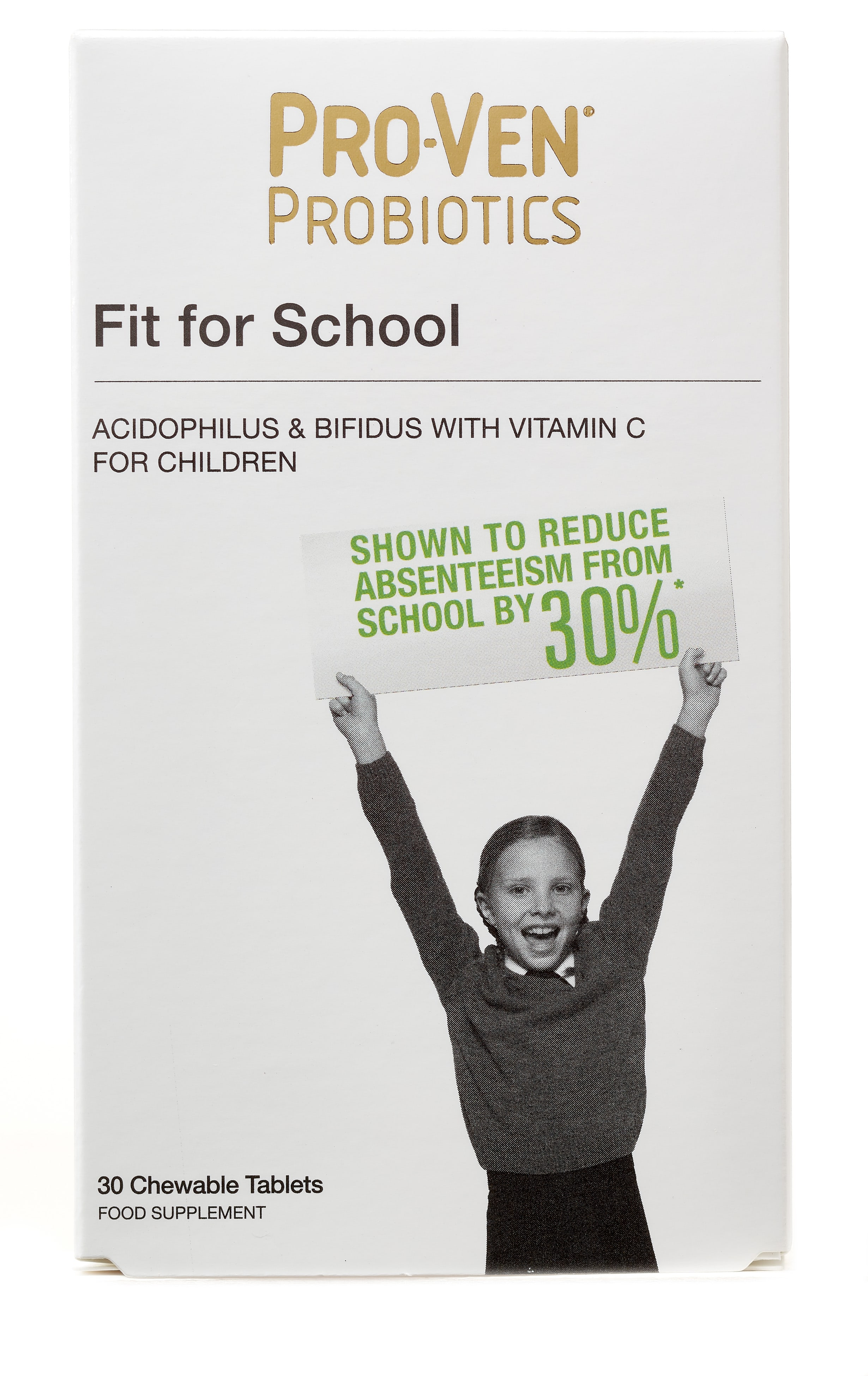 Fit for School Chewable Tablets 30's