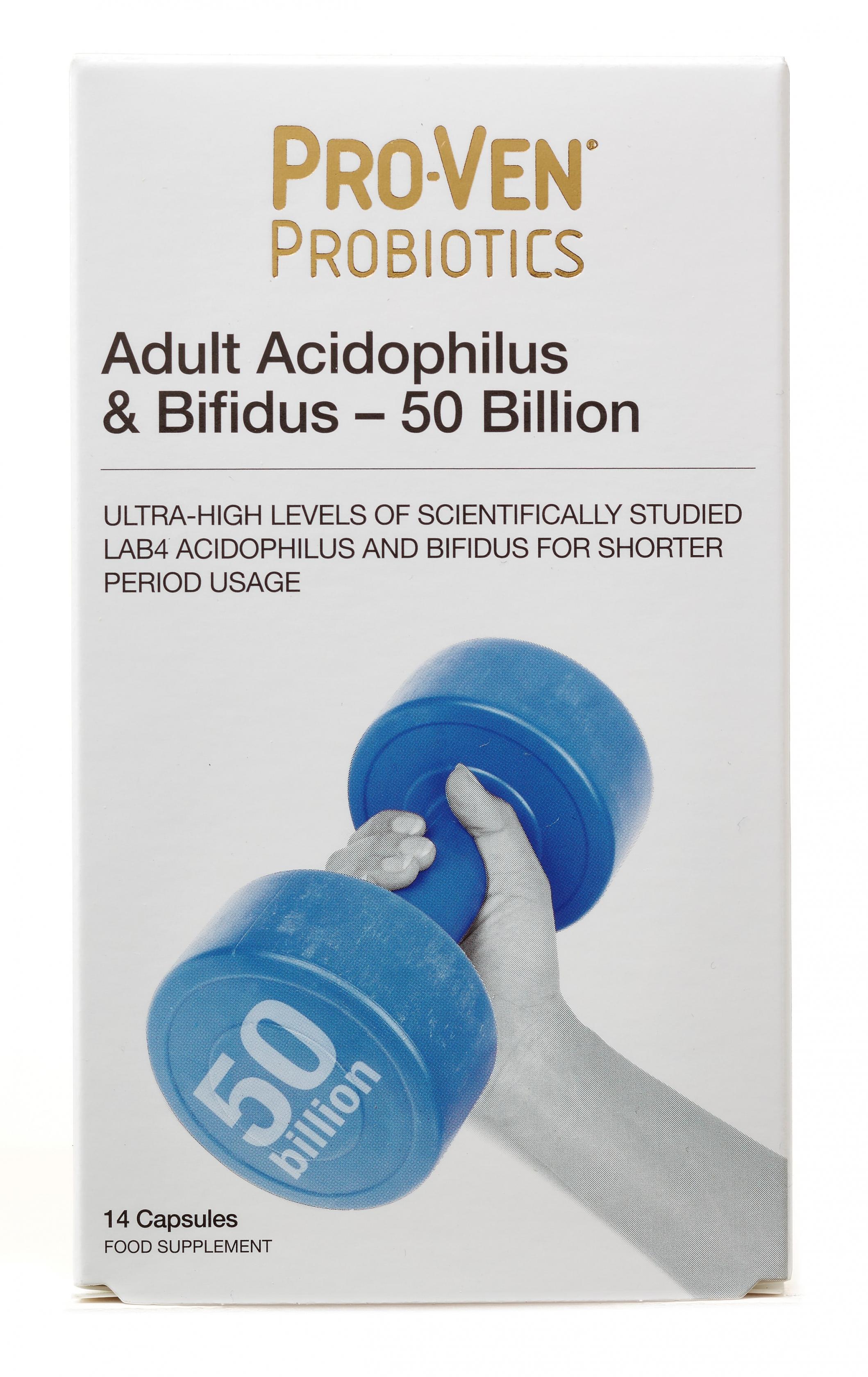 Adult Acidophilus & Bifidus 50 Billion 14's